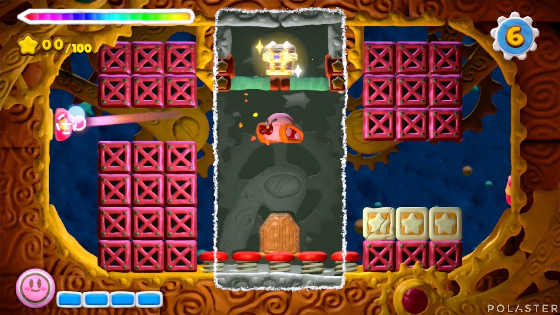 Kirby y el Pincel Arcoíris - Desafío 24: Cofre 3
