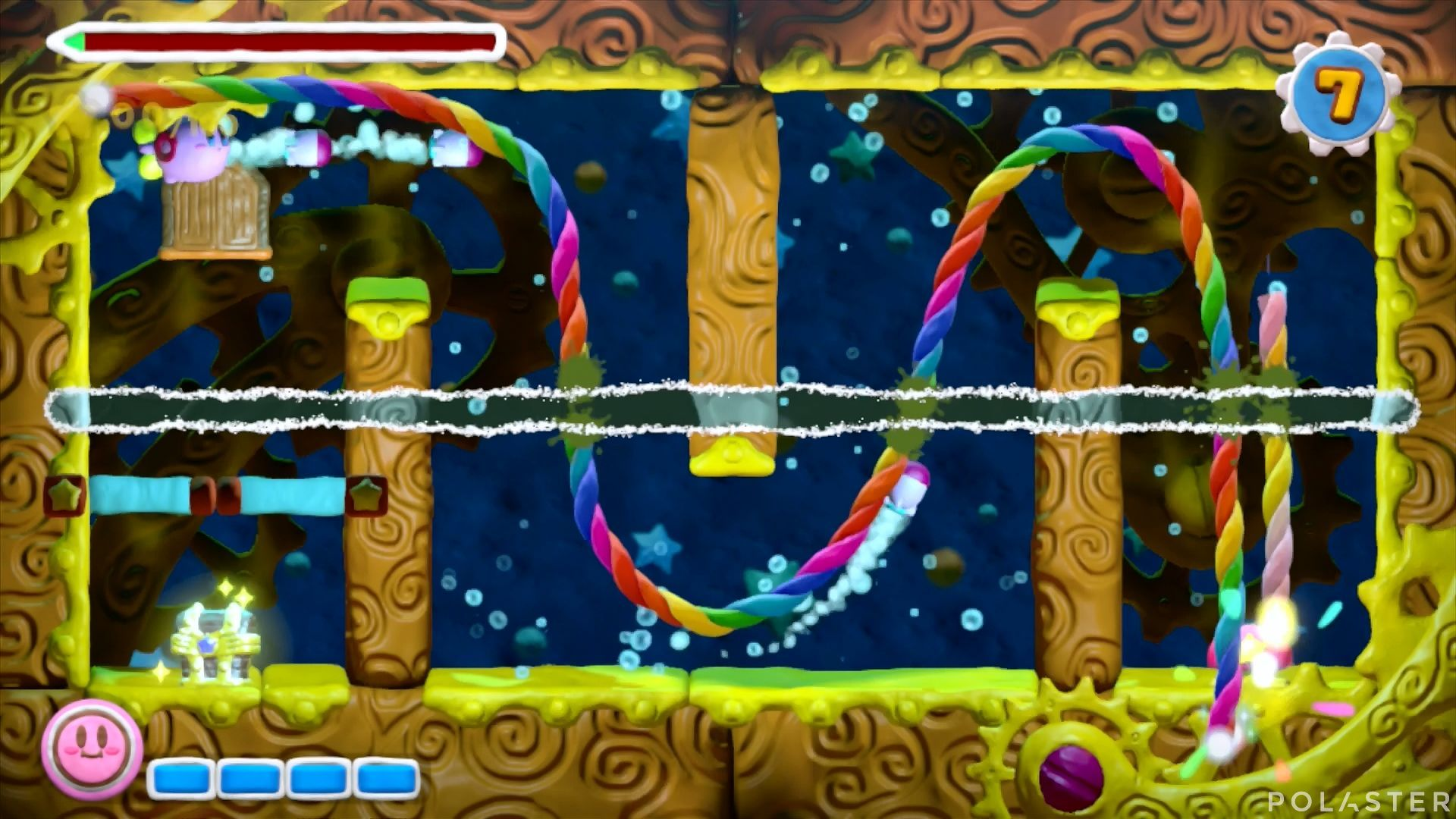 Kirby y el Pincel Arcoíris - Desafío 24: Cofre 7