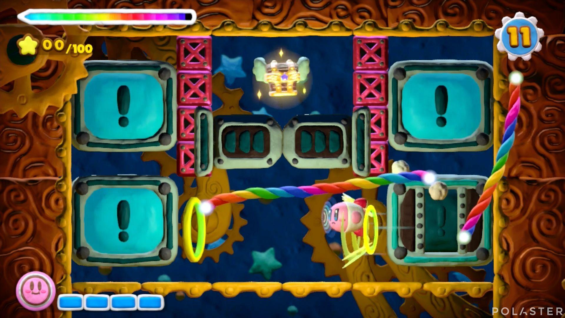Kirby y el Pincel Arcoíris - Desafío 24: Cofre 9