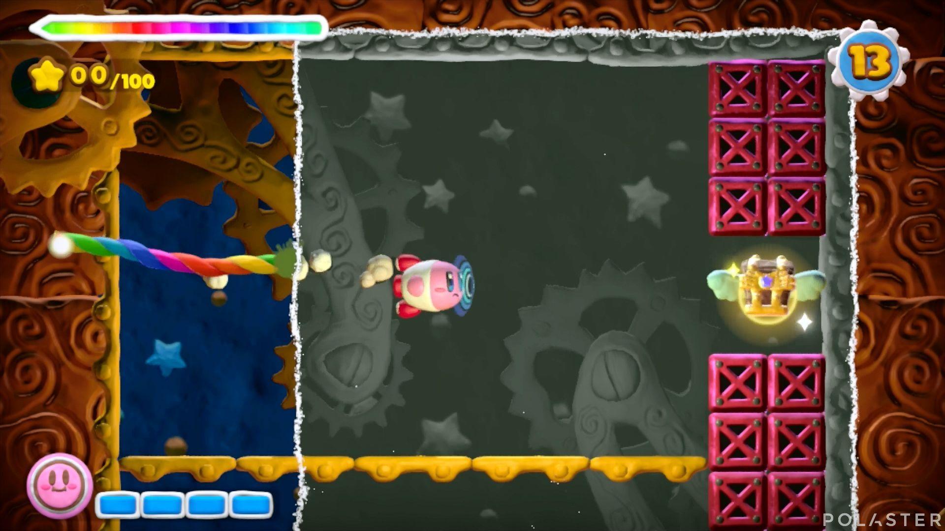 Kirby y el Pincel Arcoíris - Desafío 25: Cofre 3