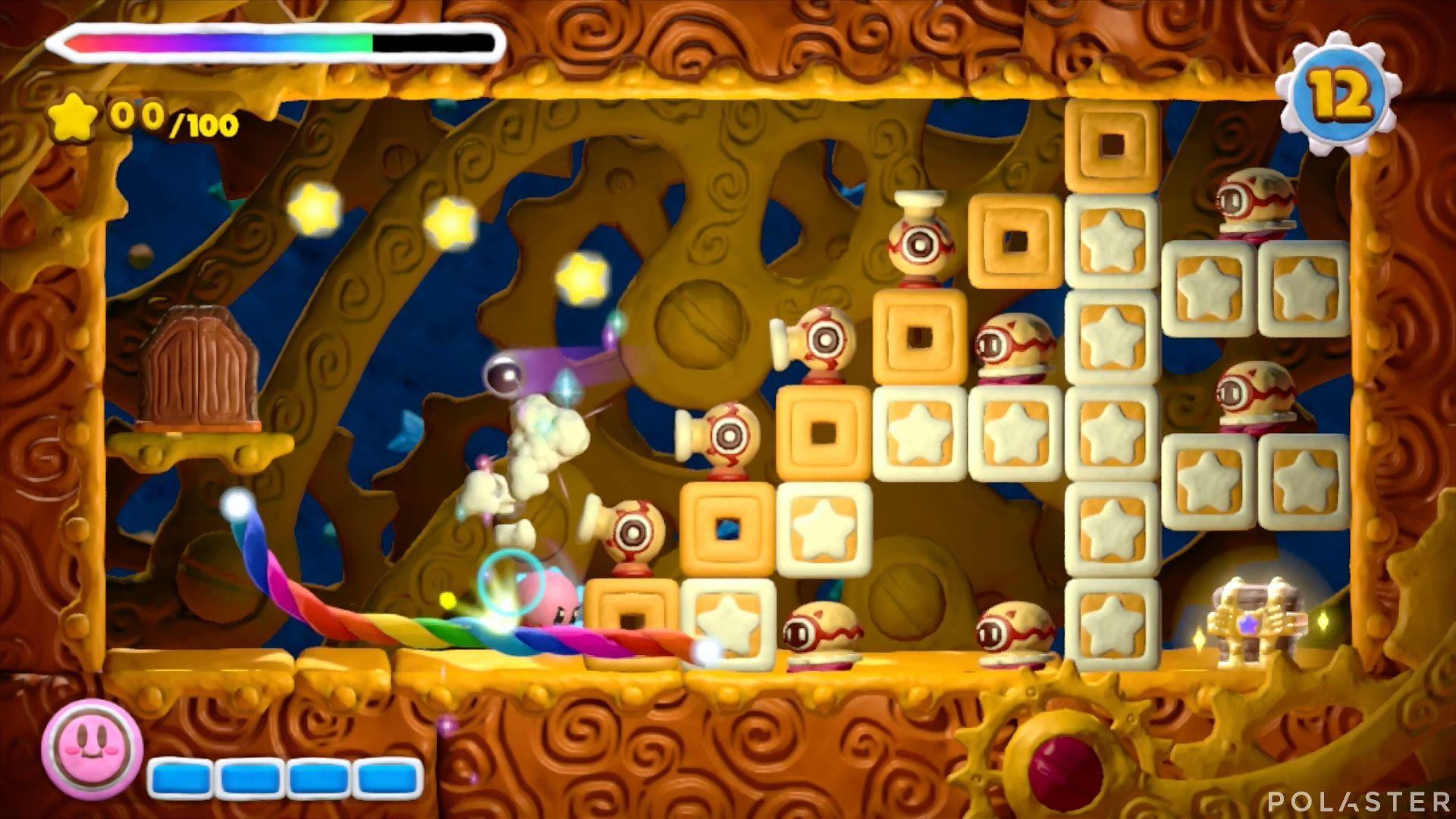 Kirby y el Pincel Arcoíris - Desafío 26: Cofre 1