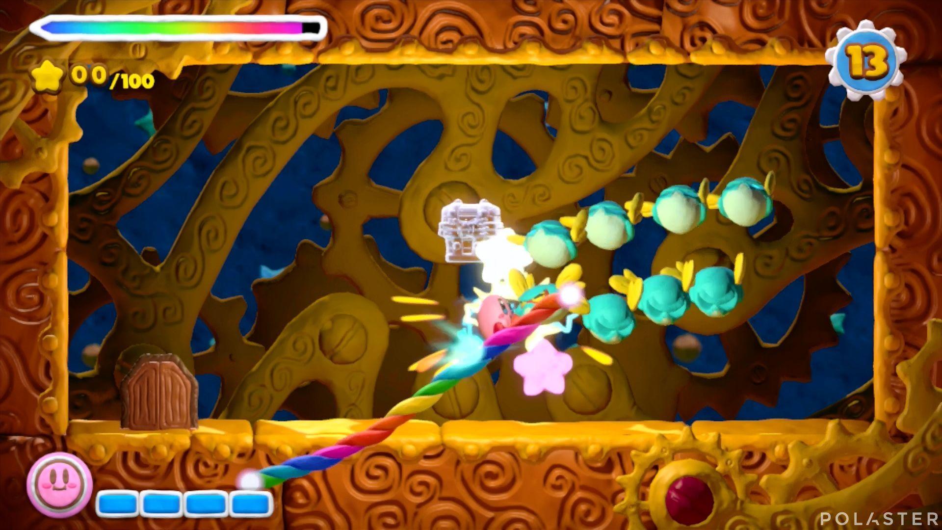 Kirby y el Pincel Arcoíris - Desafío 26: Cofre 2