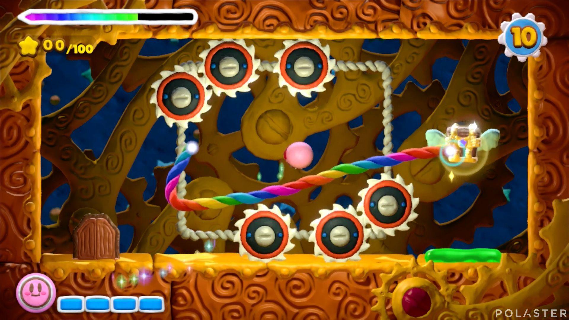 Kirby y el Pincel Arcoíris - Desafío 26: Cofre 3