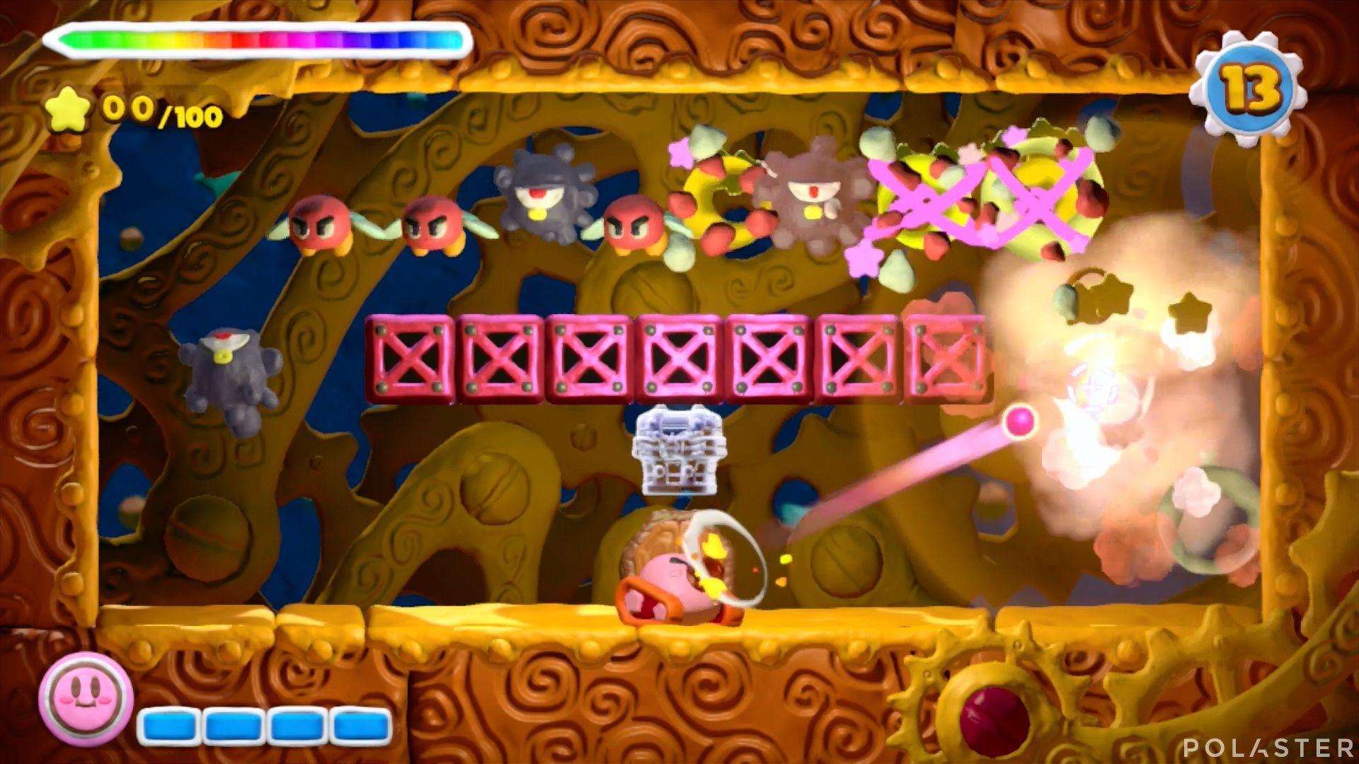 Kirby y el Pincel Arcoíris - Desafío 27: Cofre 1