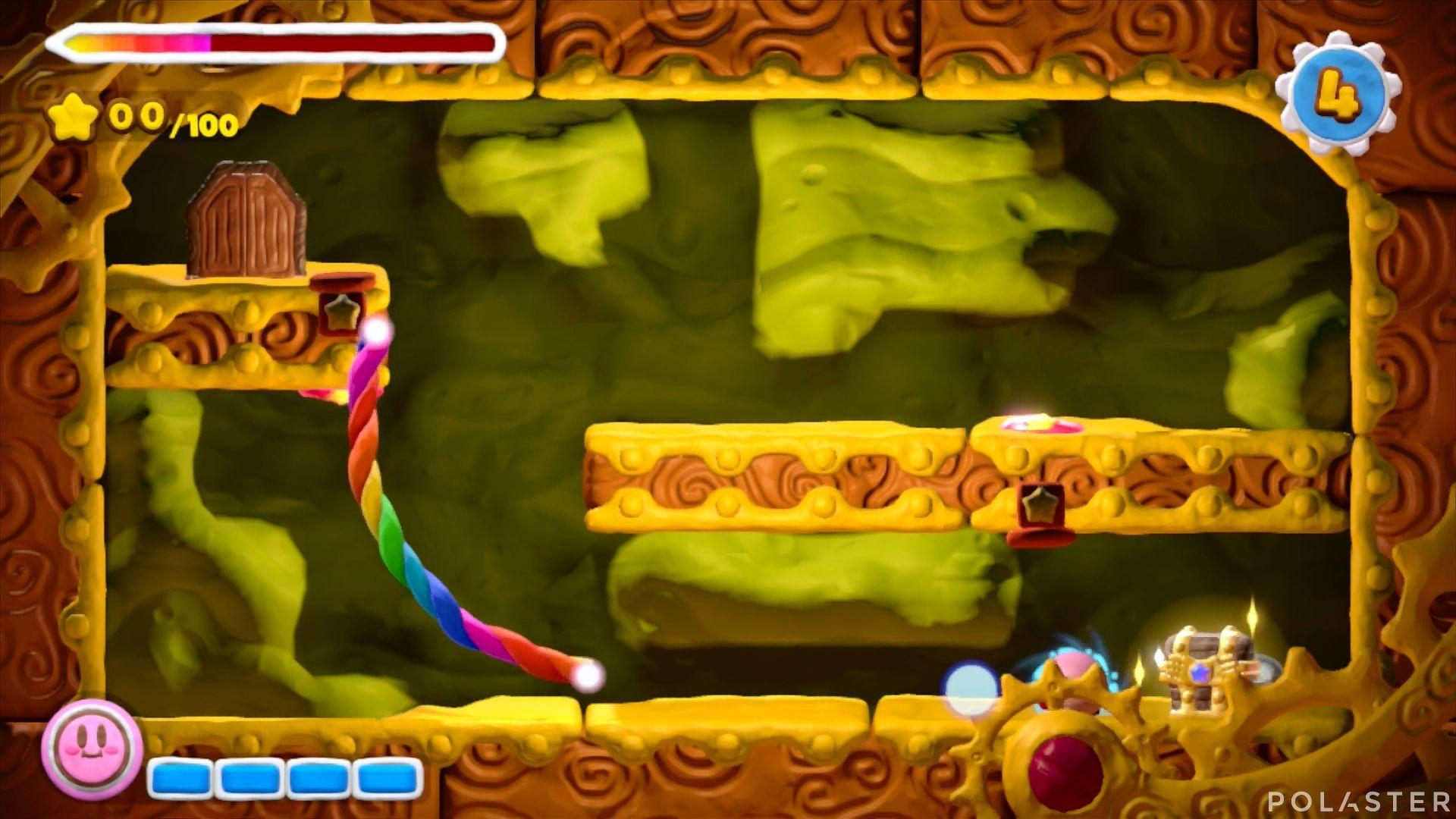 Kirby y el Pincel Arcoíris - Desafío 27: Cofre 2