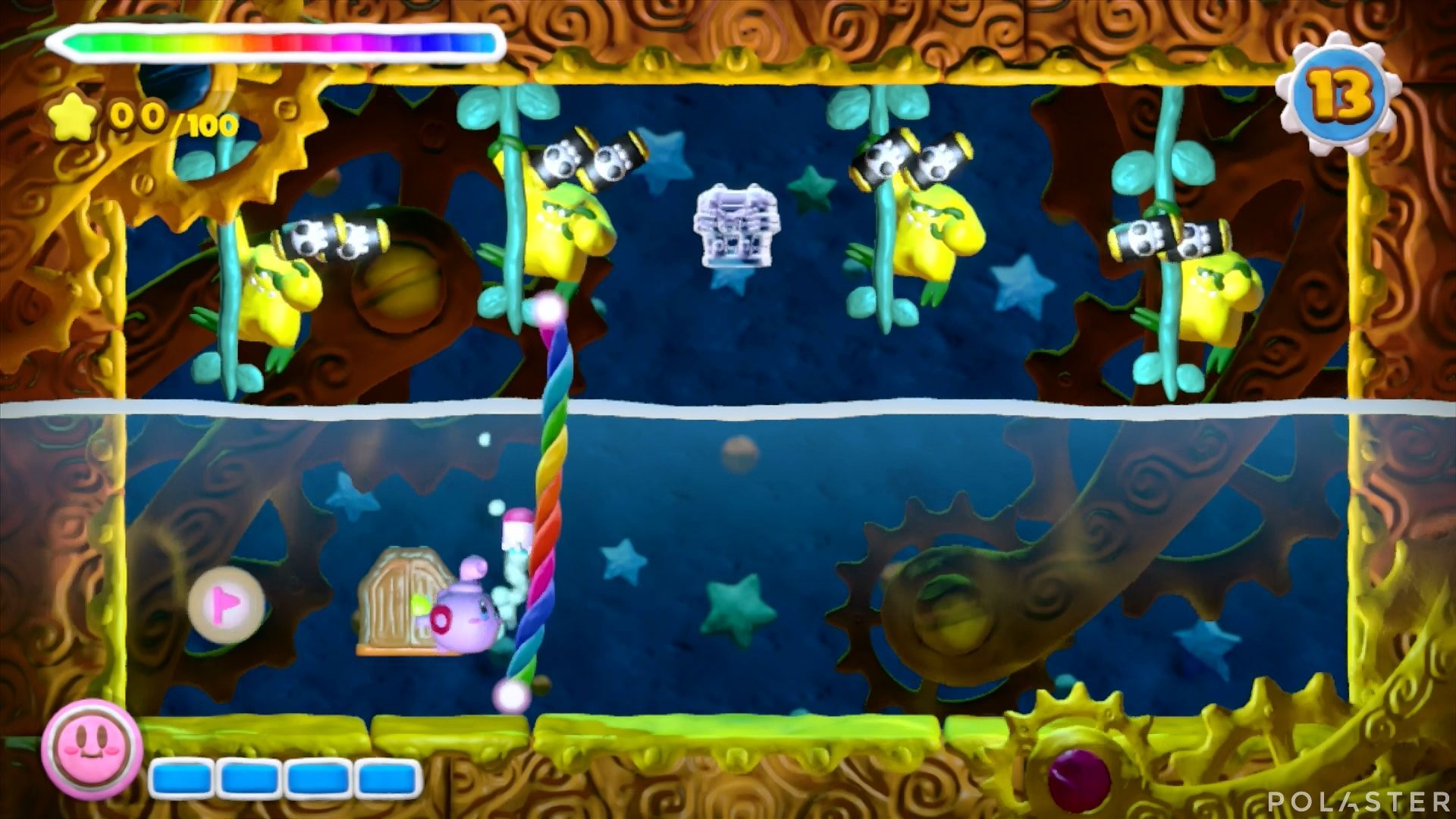 Kirby y el Pincel Arcoíris - Desafío 27: Cofre 3