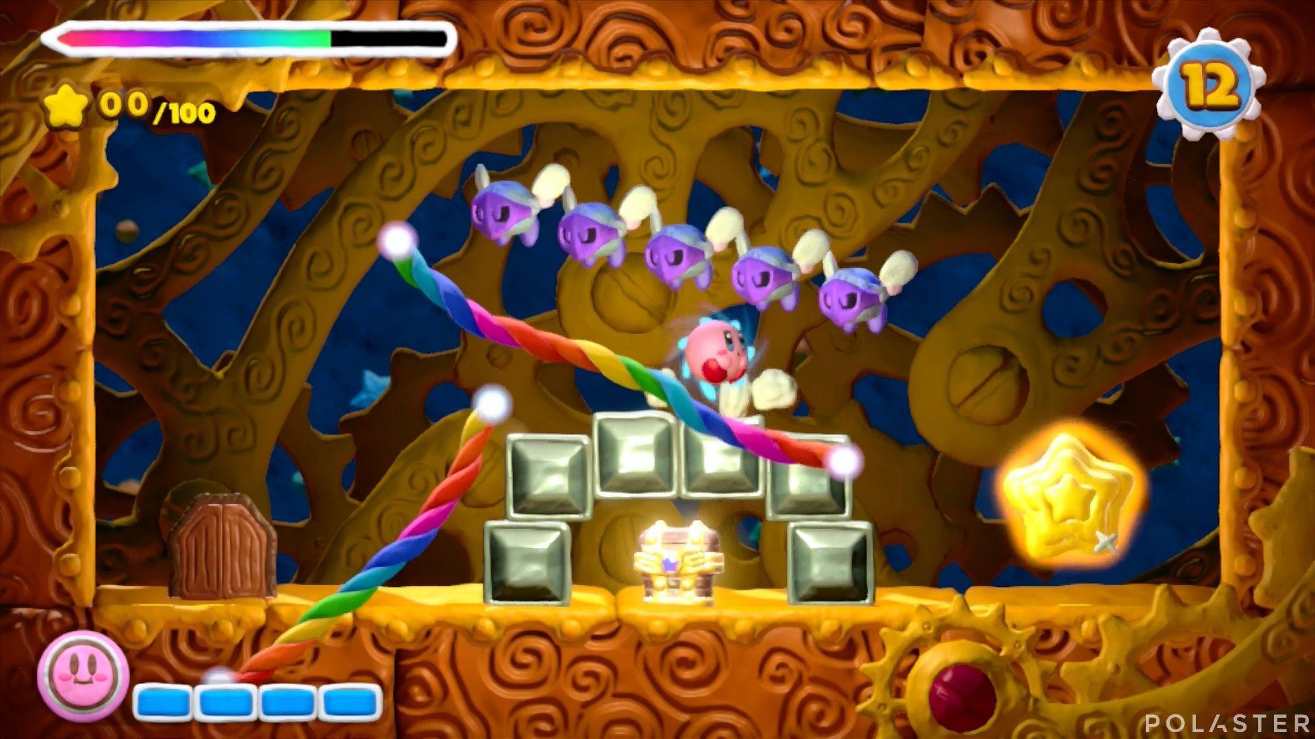 Kirby y el Pincel Arcoíris - Desafío 27: Cofre 4