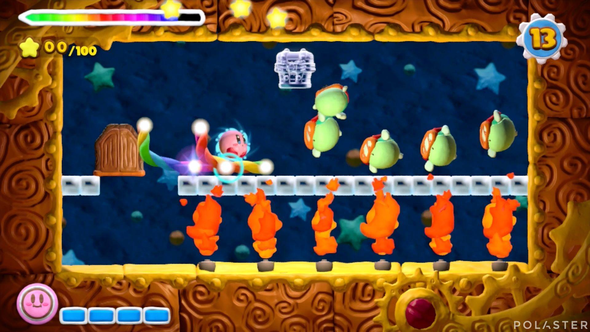 Kirby y el Pincel Arcoíris - Desafío 28: Cofre 2