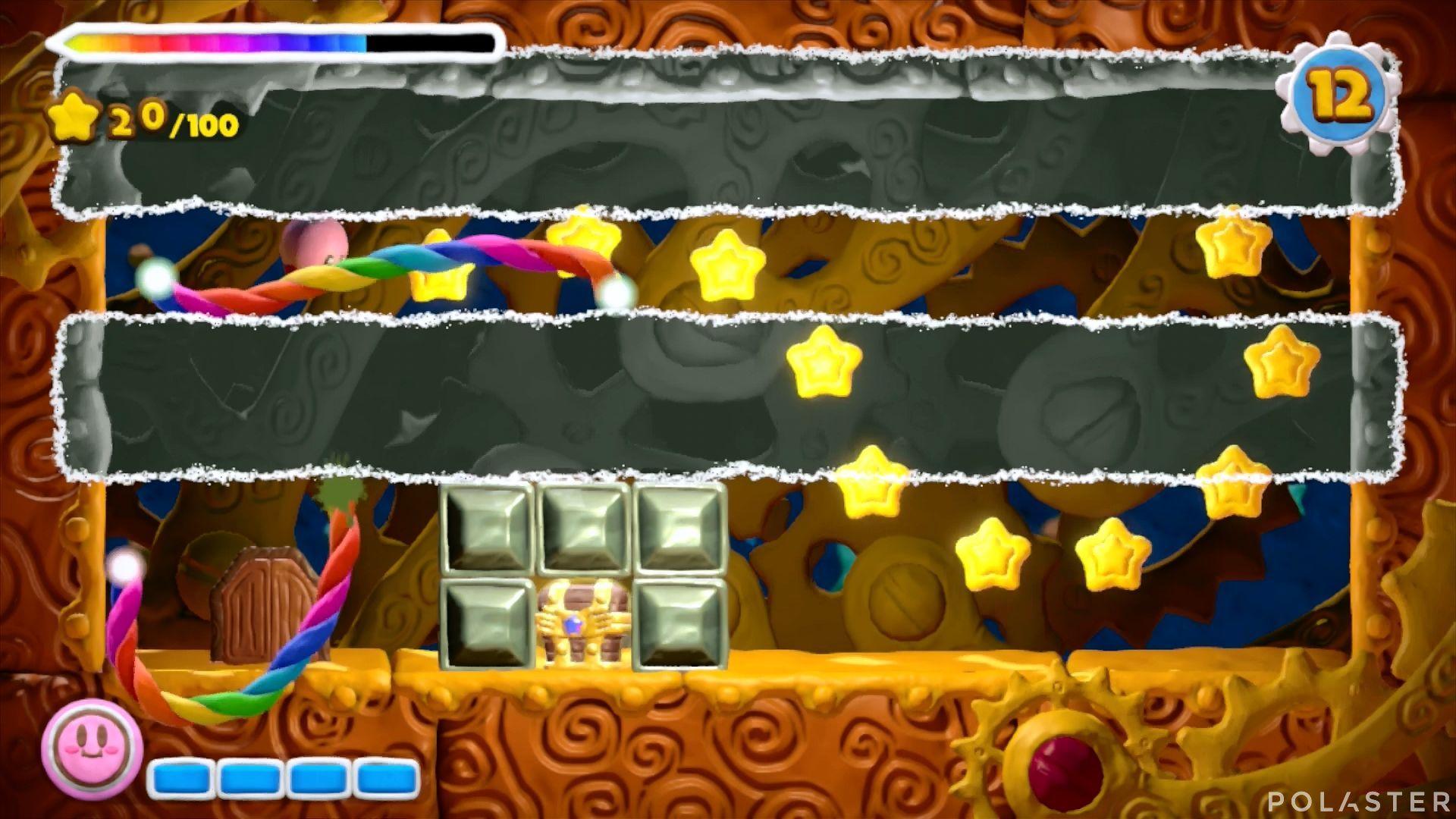 Kirby y el Pincel Arcoíris - Desafío 28: Cofre 3