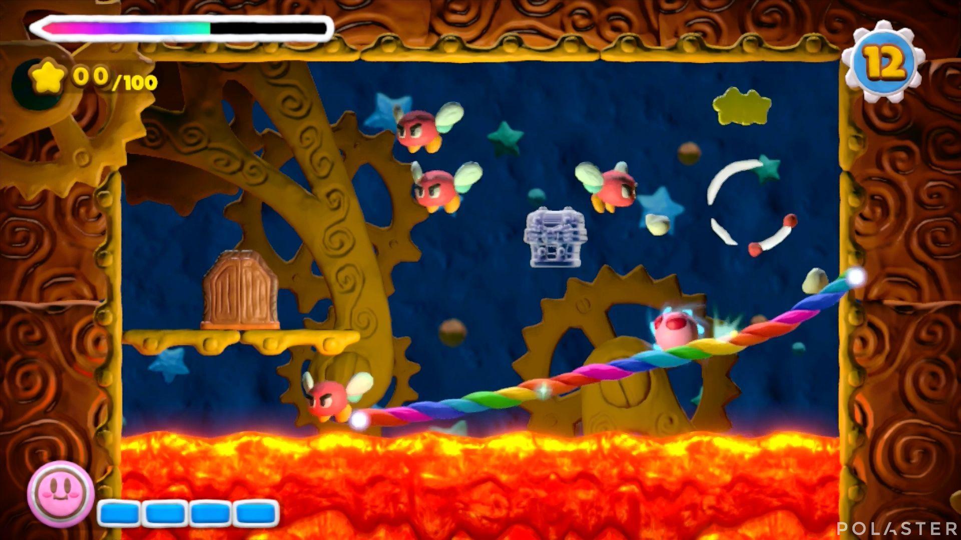 Kirby y el Pincel Arcoíris - Desafío 28: Cofre 4