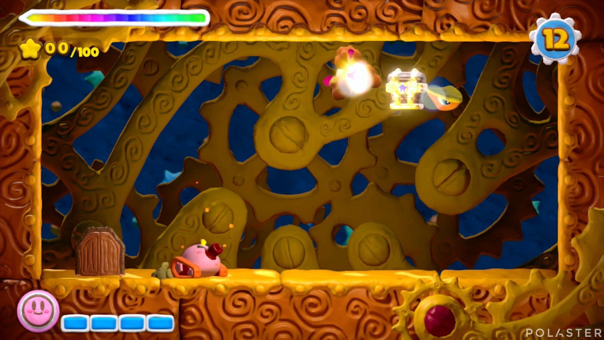 Kirby y el Pincel Arcoíris - Desafío 29: Cofre 2