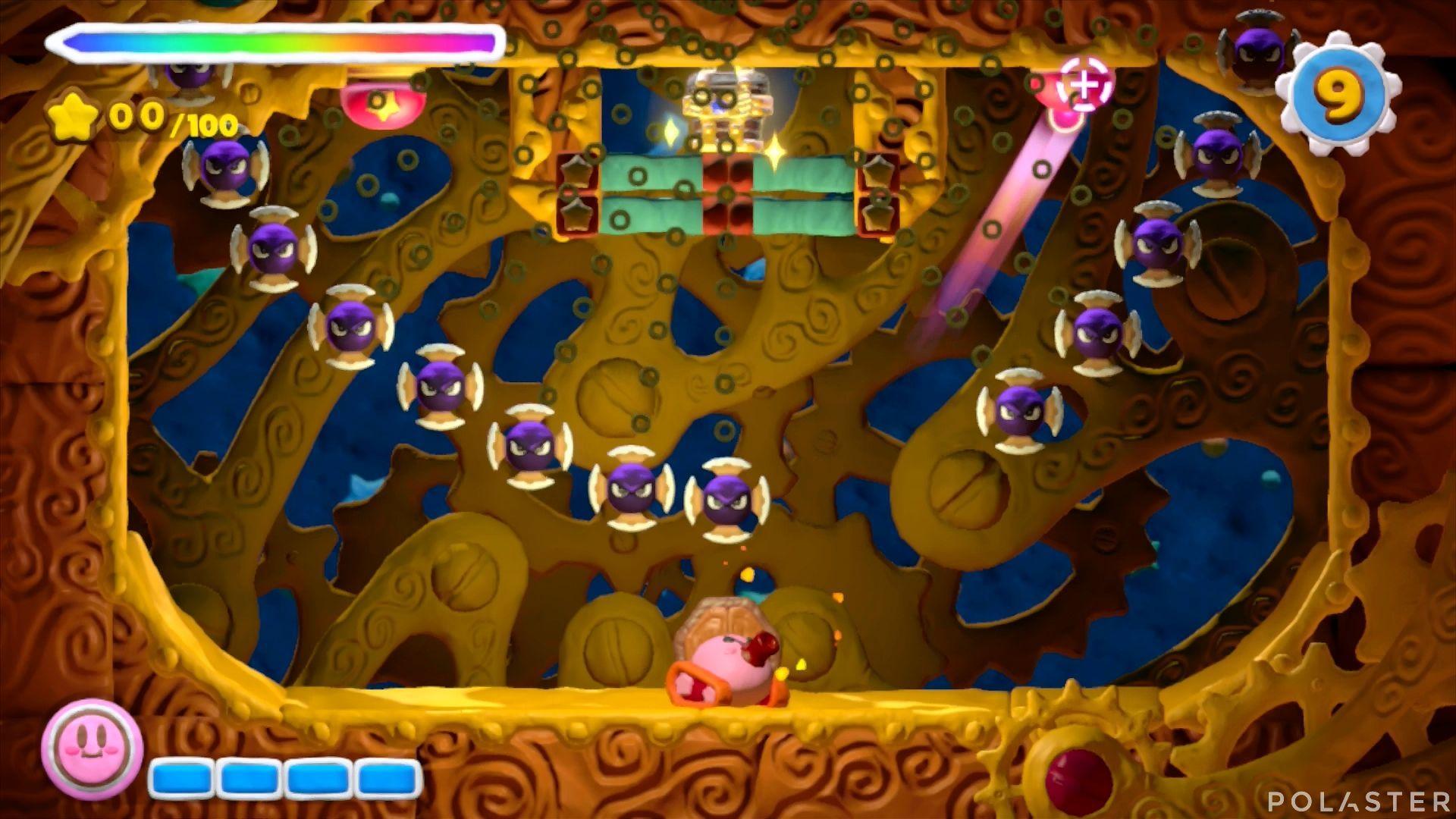 Kirby y el Pincel Arcoíris - Desafío 29: Cofre 3