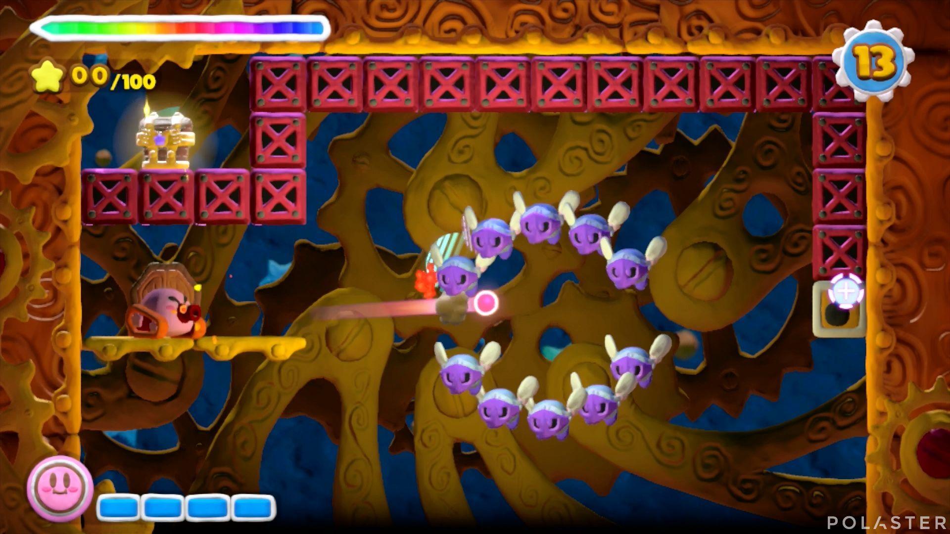 Kirby y el Pincel Arcoíris - Desafío 29: Cofre 4