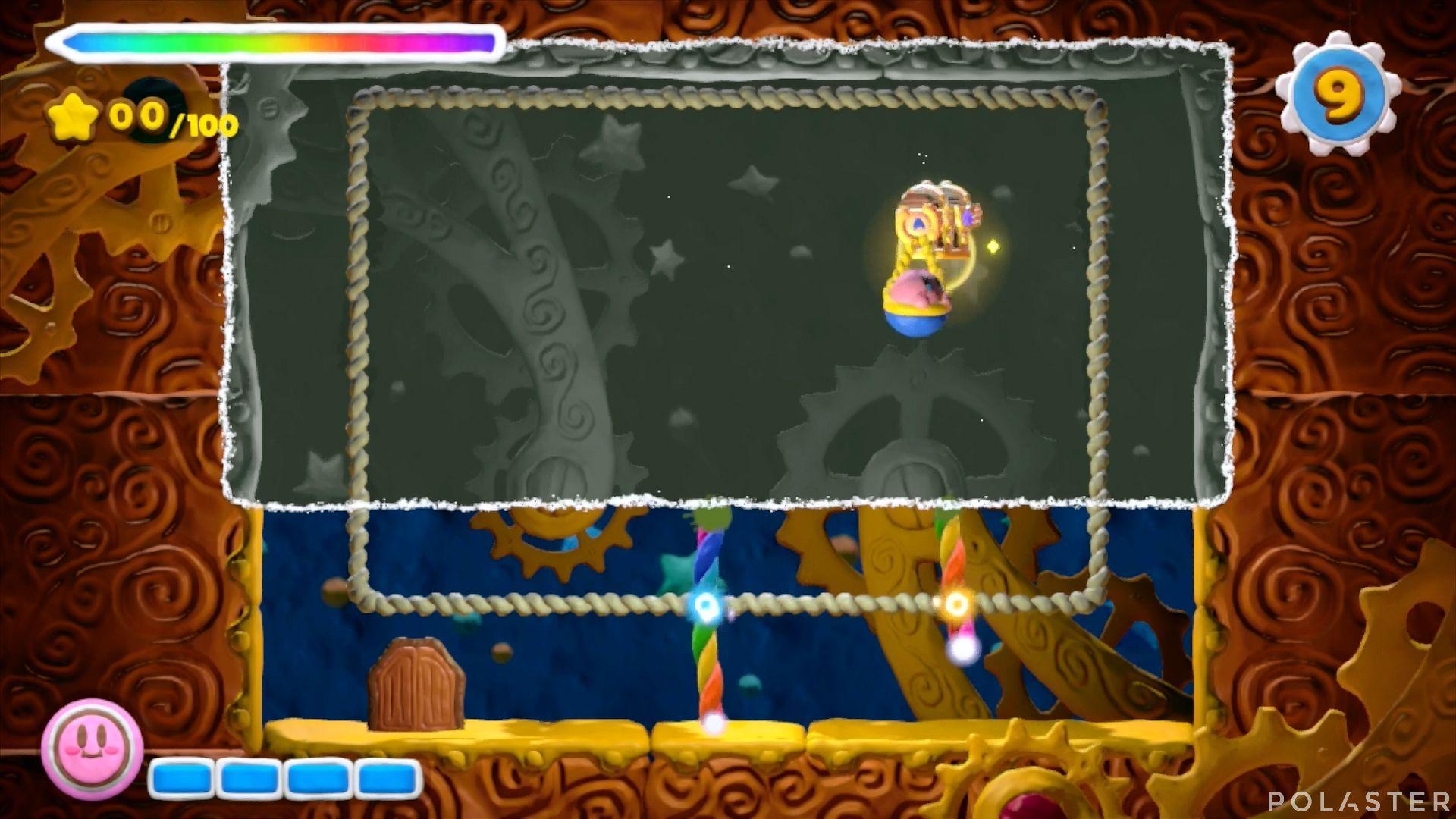 Kirby y el Pincel Arcoíris - Desafío 30: Cofre 1