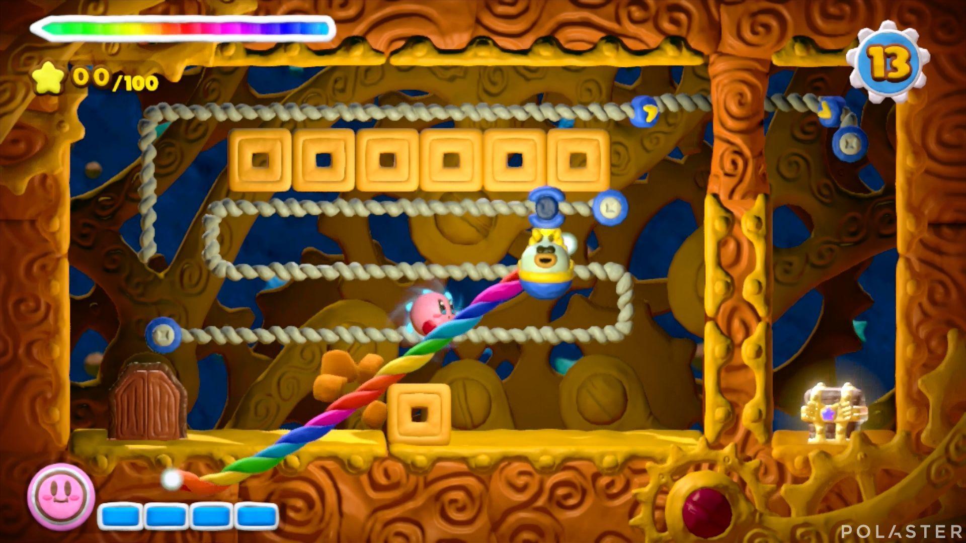Kirby y el Pincel Arcoíris - Desafío 30: Cofre 2