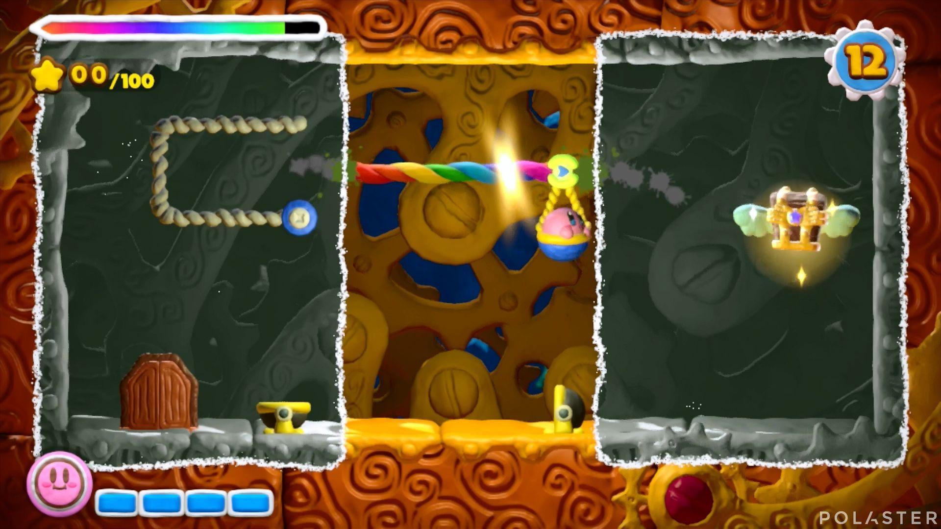 Kirby y el Pincel Arcoíris - Desafío 30: Cofre 3