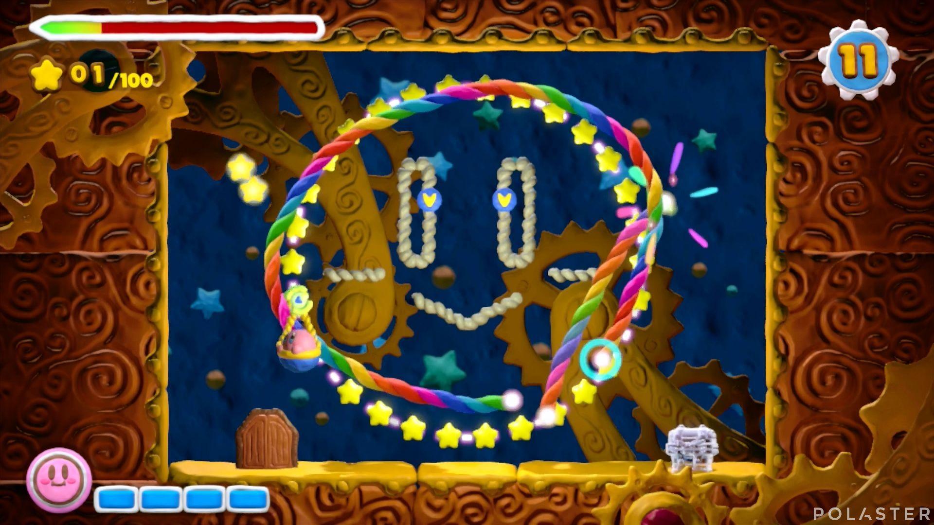 Kirby y el Pincel Arcoíris - Desafío 30: Cofre 4