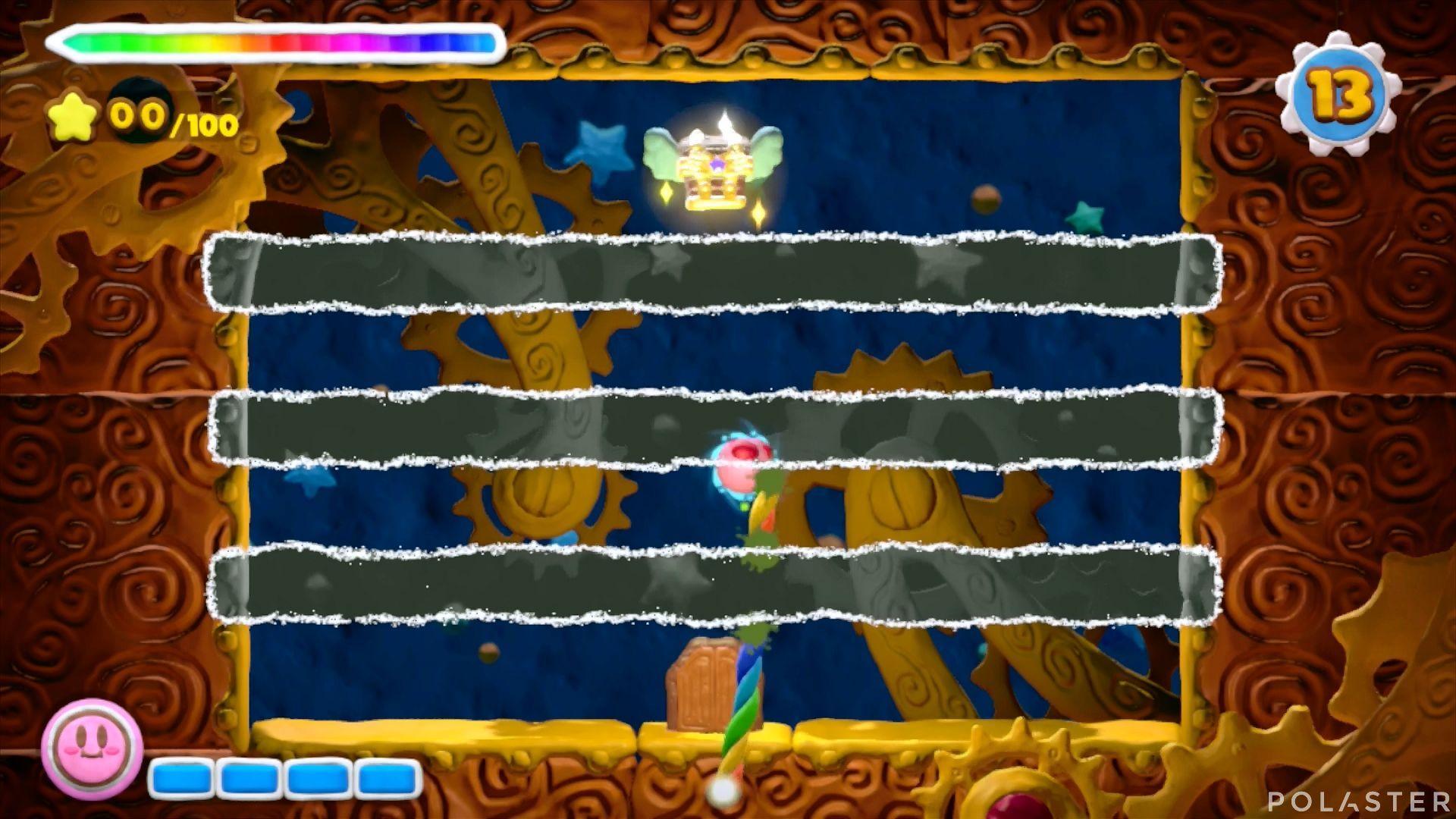 Kirby y el Pincel Arcoíris - Desafío 31: Cofre 1
