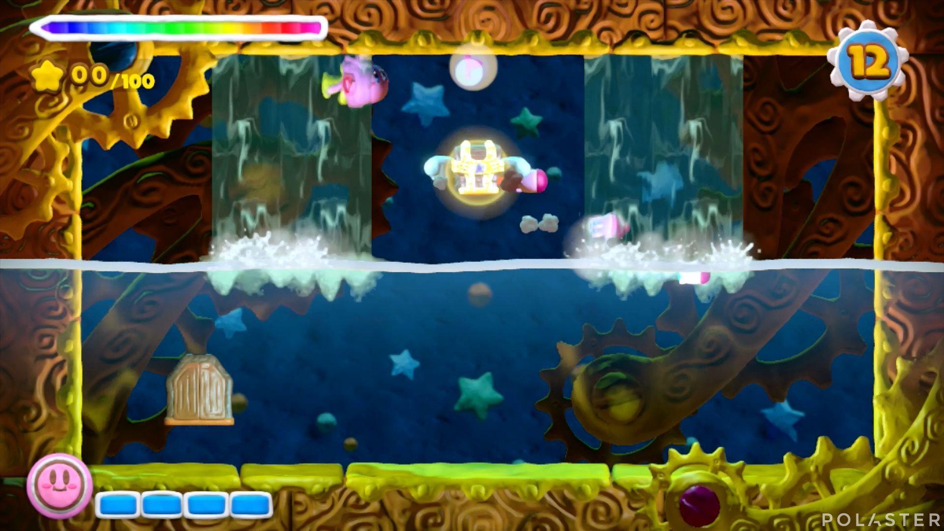 Kirby y el Pincel Arcoíris - Desafío 33: Cofre 1