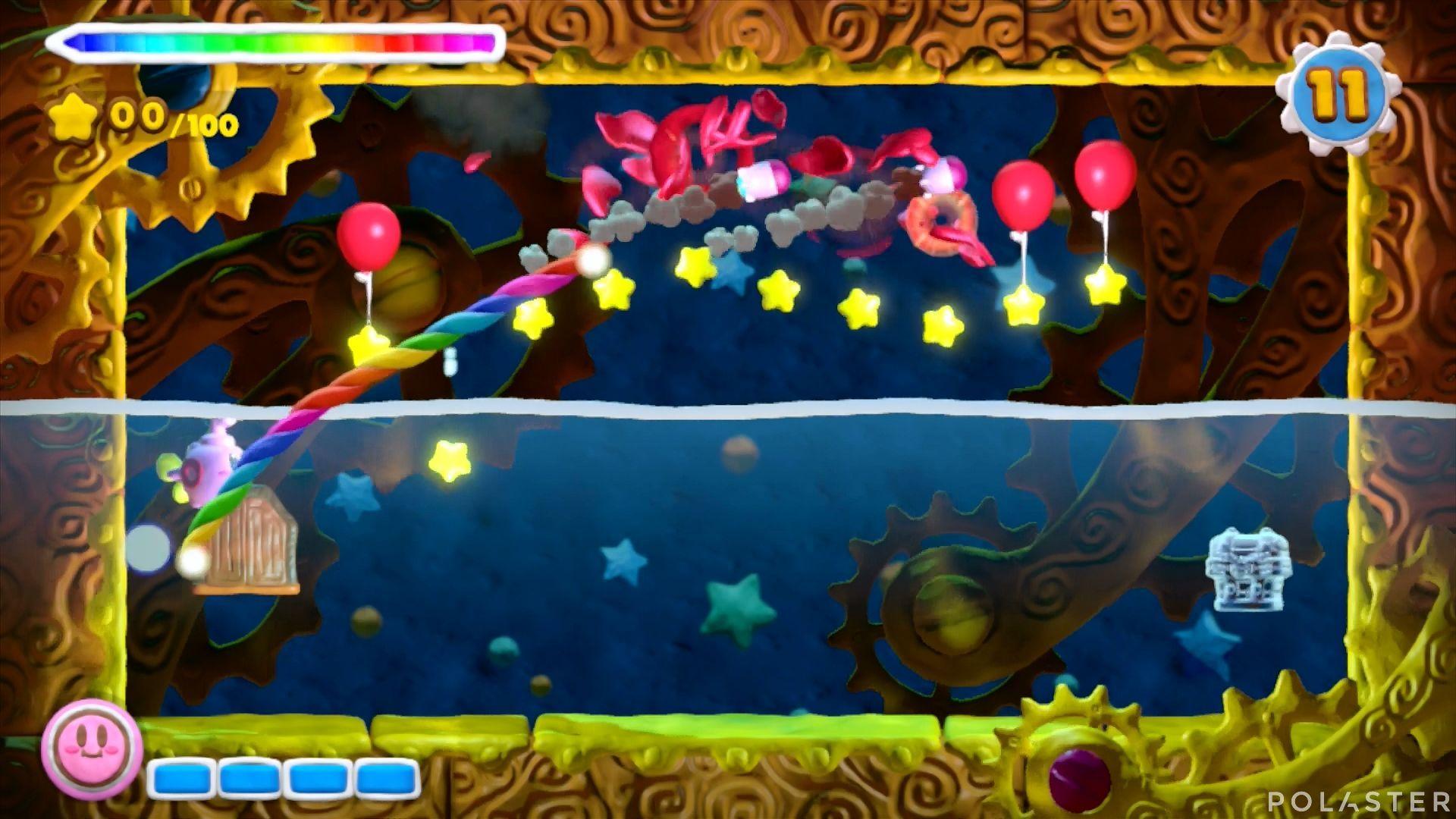 Kirby y el Pincel Arcoíris - Desafío 33: Cofre 4