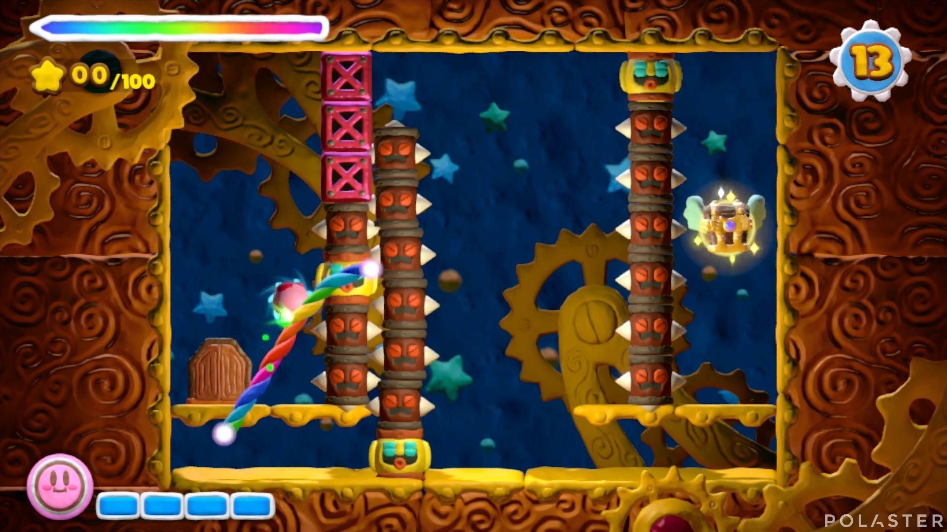 Kirby y el Pincel Arcoíris - Desafío 34: Cofre 2
