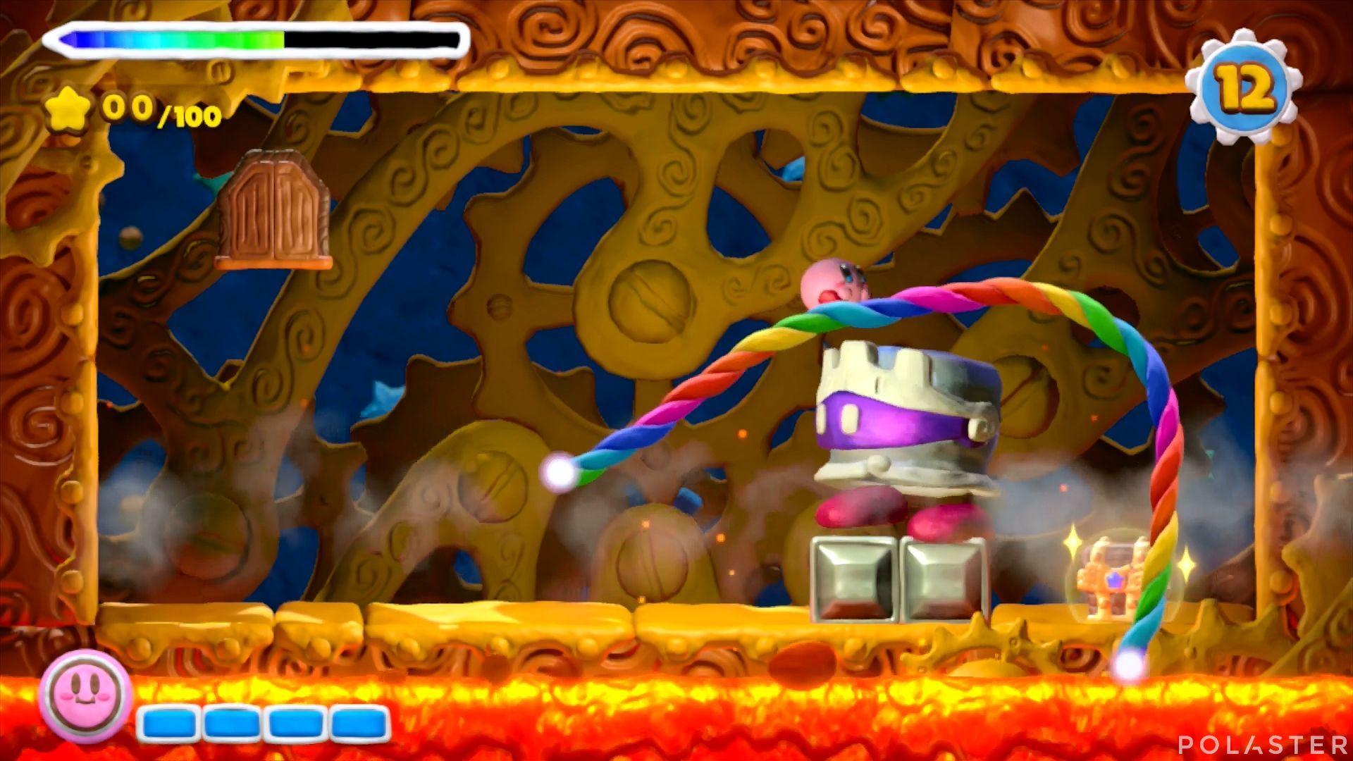 Kirby y el Pincel Arcoíris - Desafío 34: Cofre 3