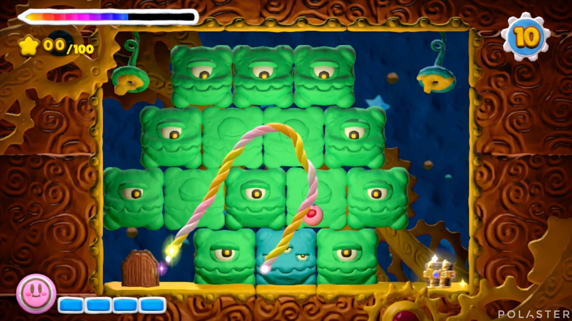 Kirby y el Pincel Arcoíris - Desafío 35: Cofre 3