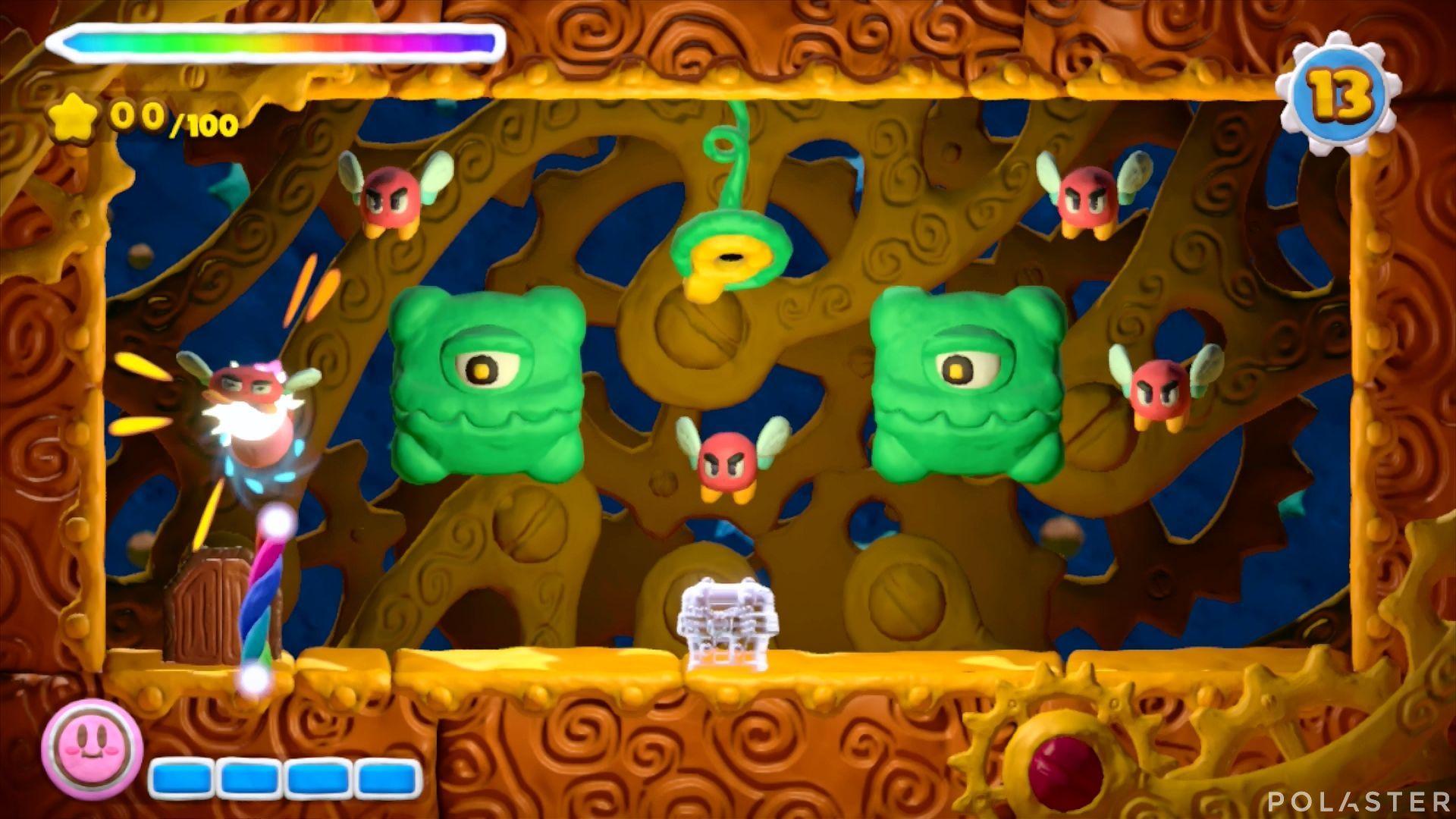 Kirby y el Pincel Arcoíris - Desafío 35: Cofre 4