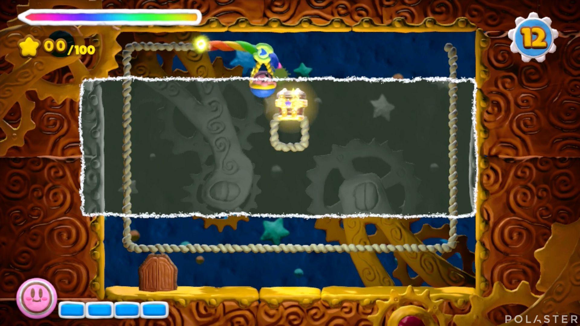 Kirby y el Pincel Arcoíris - Desafío 37: Cofre 1
