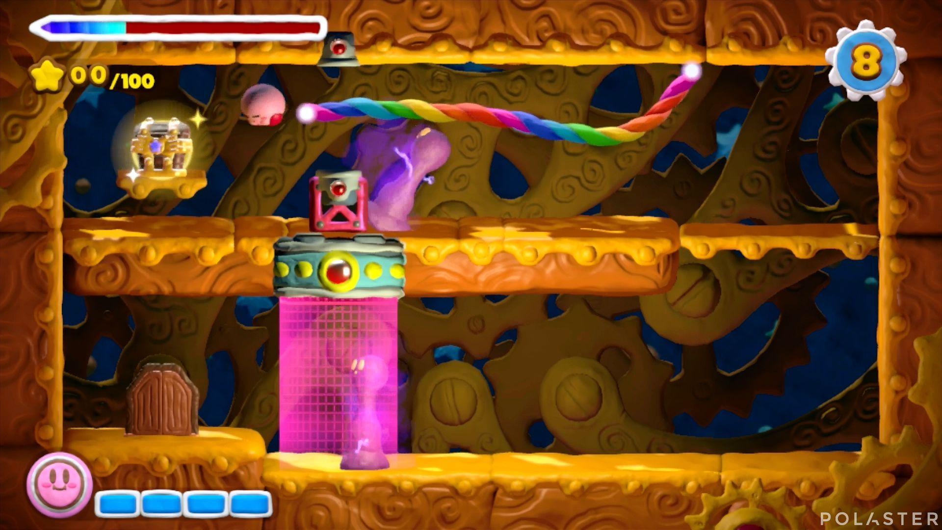 Kirby y el Pincel Arcoíris - Desafío 37: Cofre 2