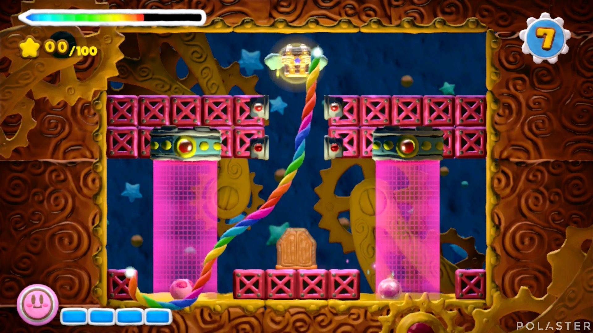 Kirby y el Pincel Arcoíris - Desafío 37: Cofre 3