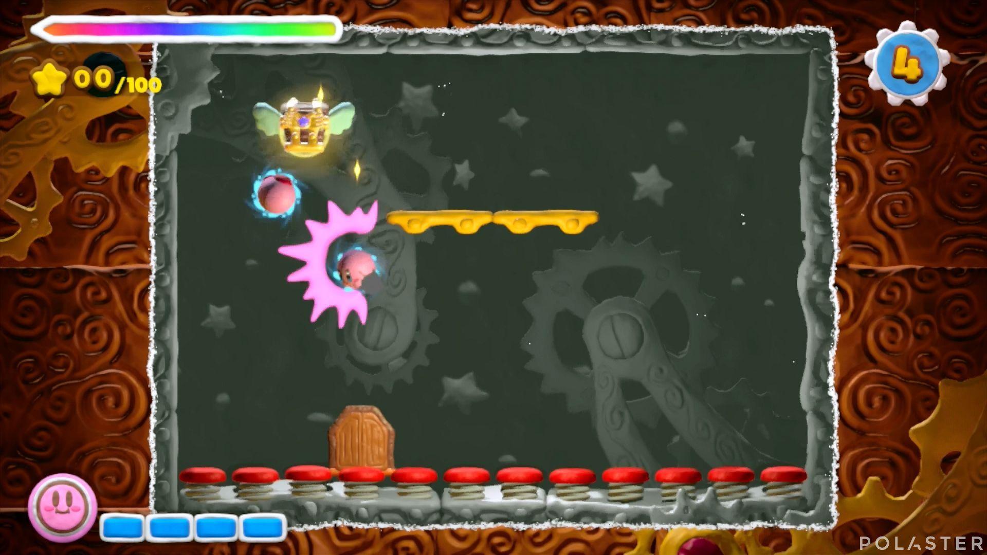Kirby y el Pincel Arcoíris - Desafío 37: Cofre 4