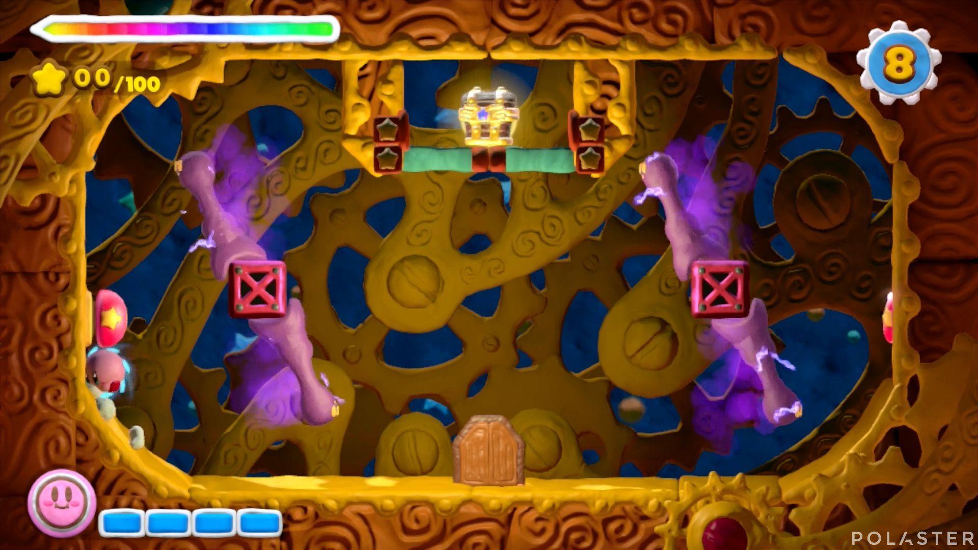 Kirby y el Pincel Arcoíris - Desafío 38: Cofre 2