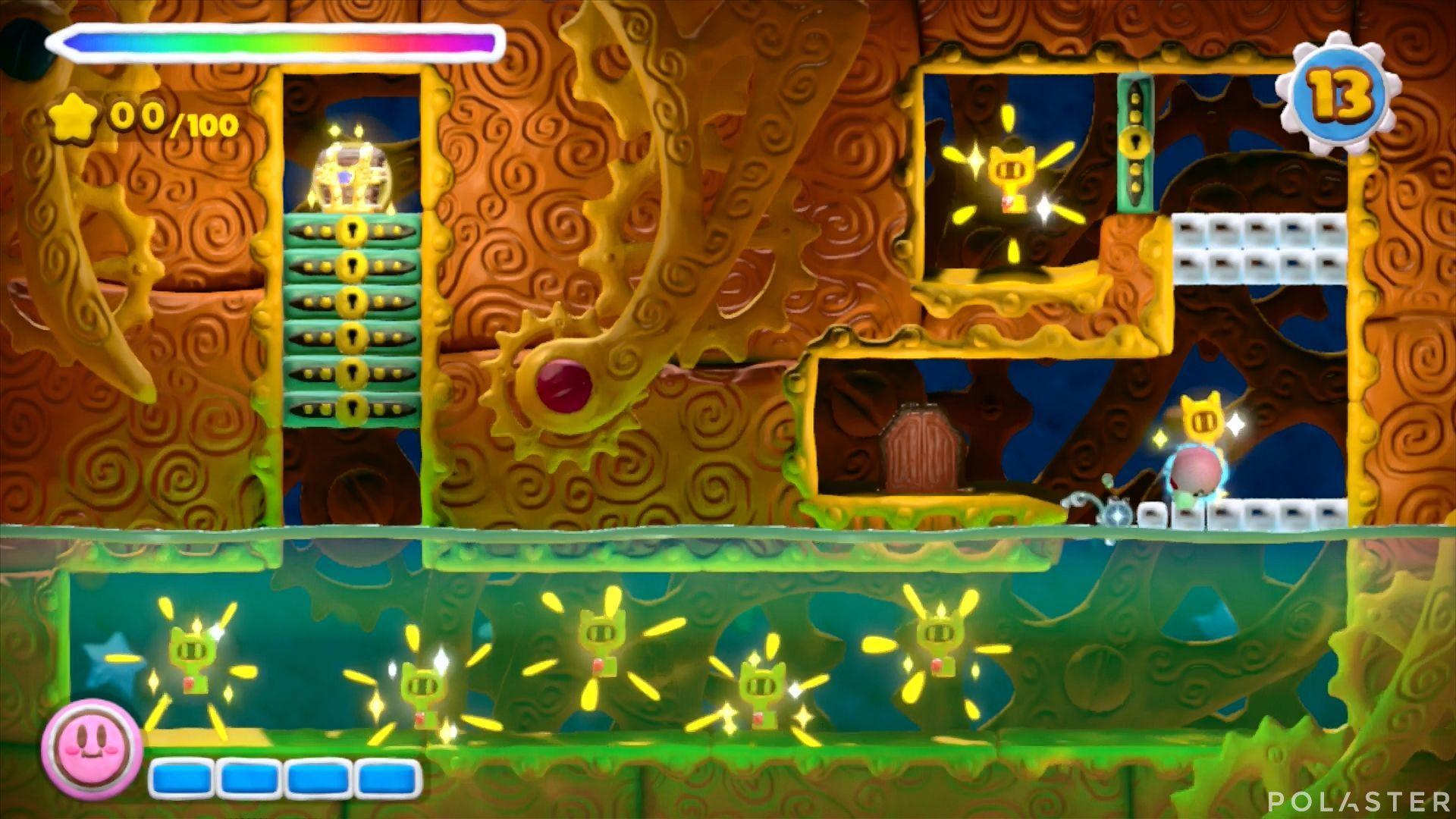 Kirby y el Pincel Arcoíris - Desafío 39: Cofre 4