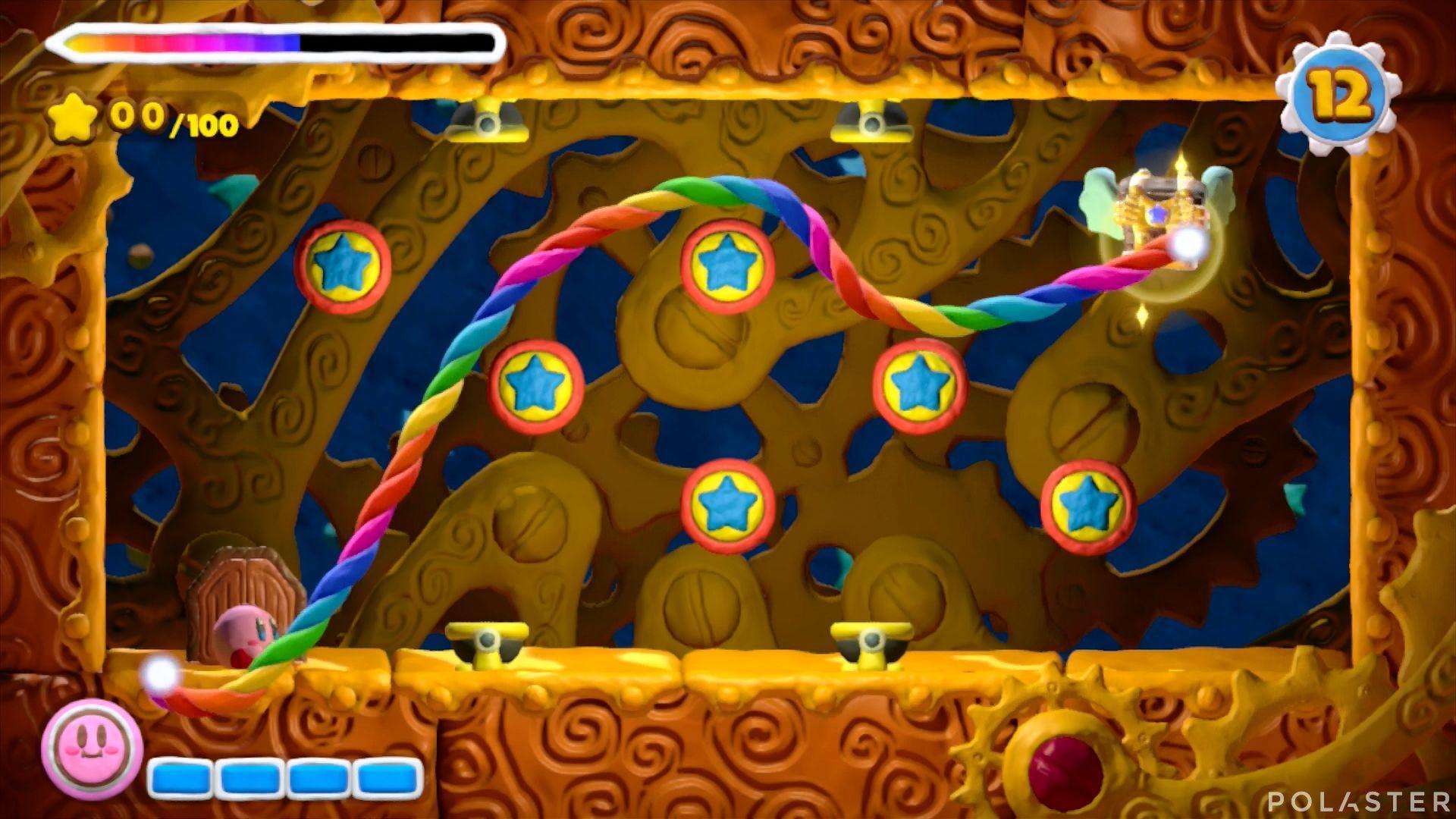 Kirby y el Pincel Arcoíris - Desafío 3 Cofre 1