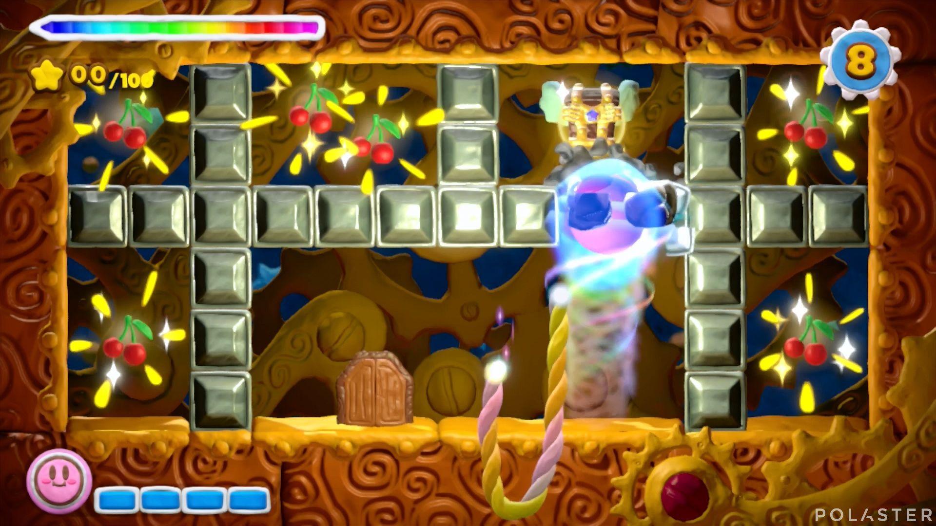 Kirby y el Pincel Arcoíris - Desafío 3 Cofre 2