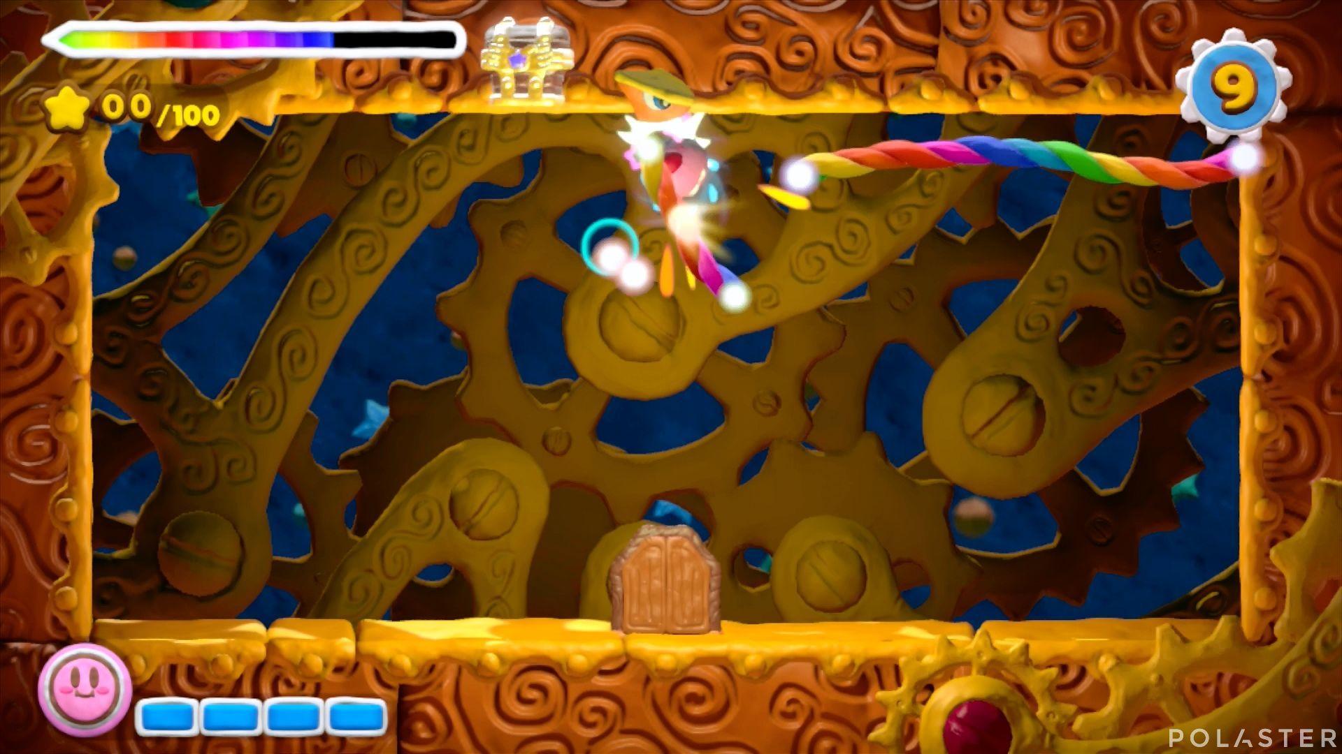 Kirby y el Pincel Arcoíris - Desafío 3 Cofre 3