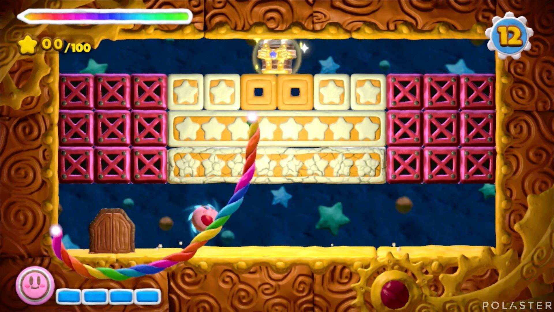 Kirby y el Pincel Arcoíris - Desafío 3 Cofre 4