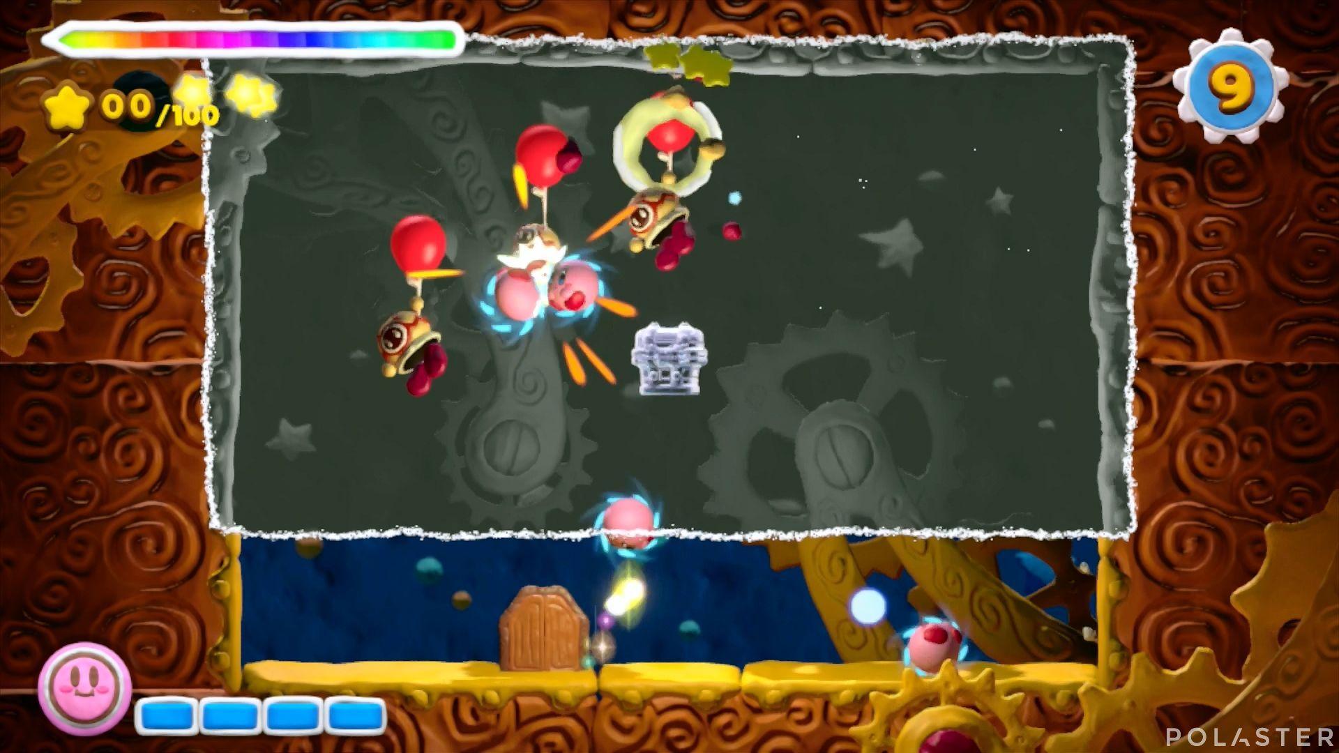 Kirby y el Pincel Arcoíris - Desafío 40: Cofre 1