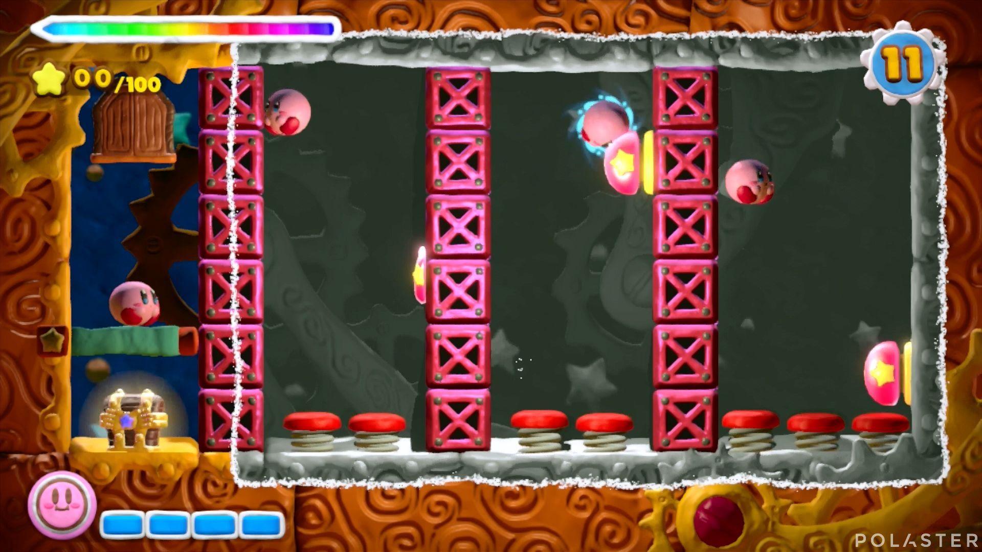 Kirby y el Pincel Arcoíris - Desafío 40: Cofre 3