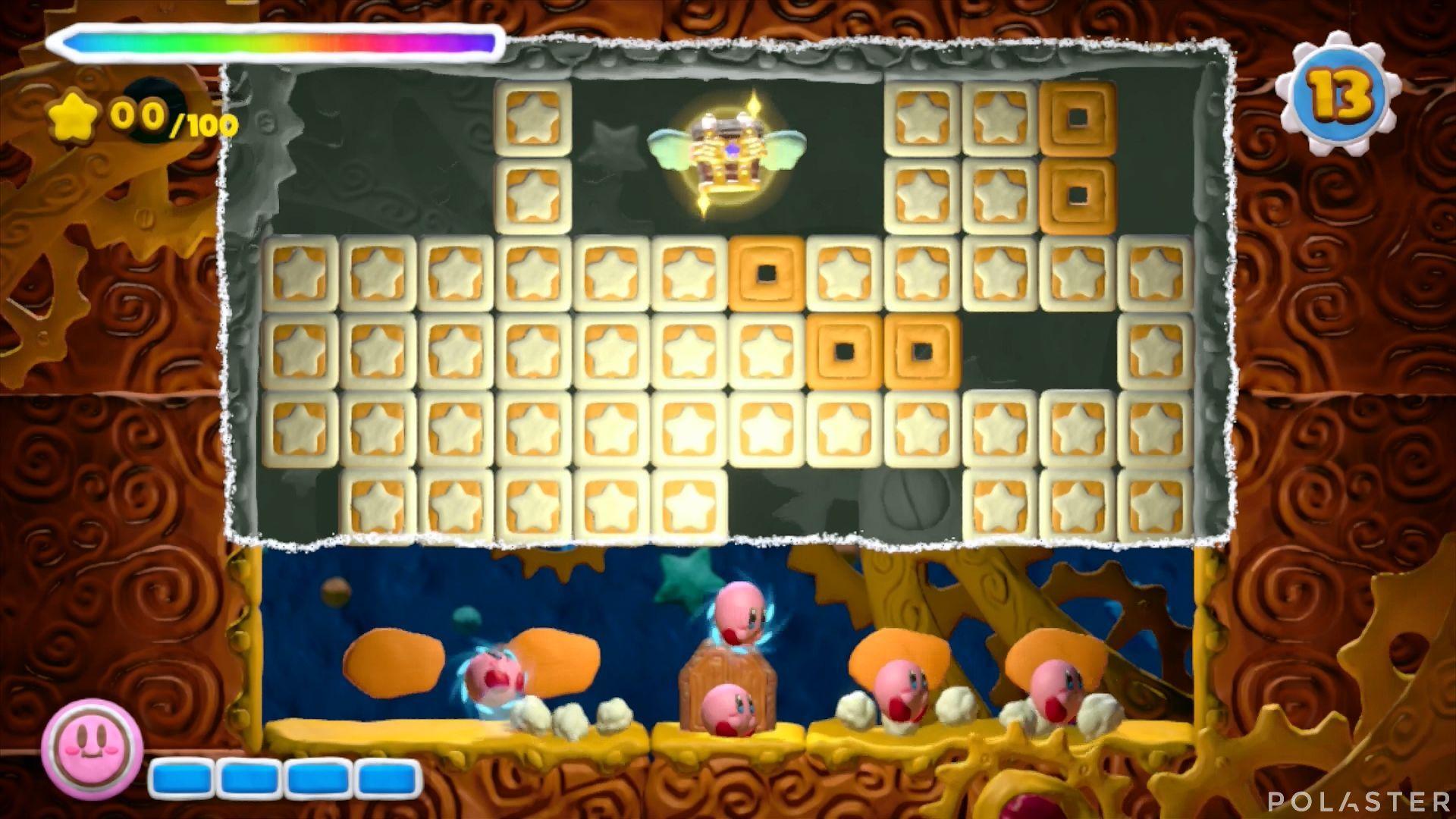 Kirby y el Pincel Arcoíris - Desafío 40: Cofre 5