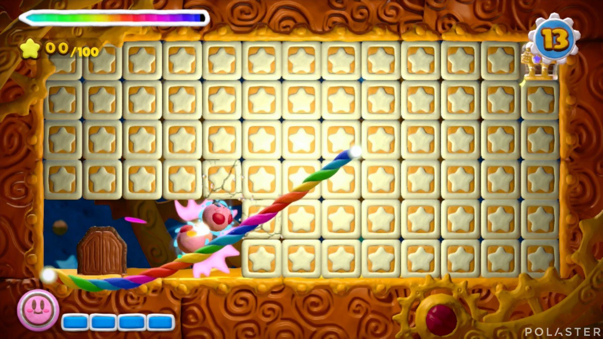 Kirby y el Pincel Arcoíris - Desafío 40: Cofre 6