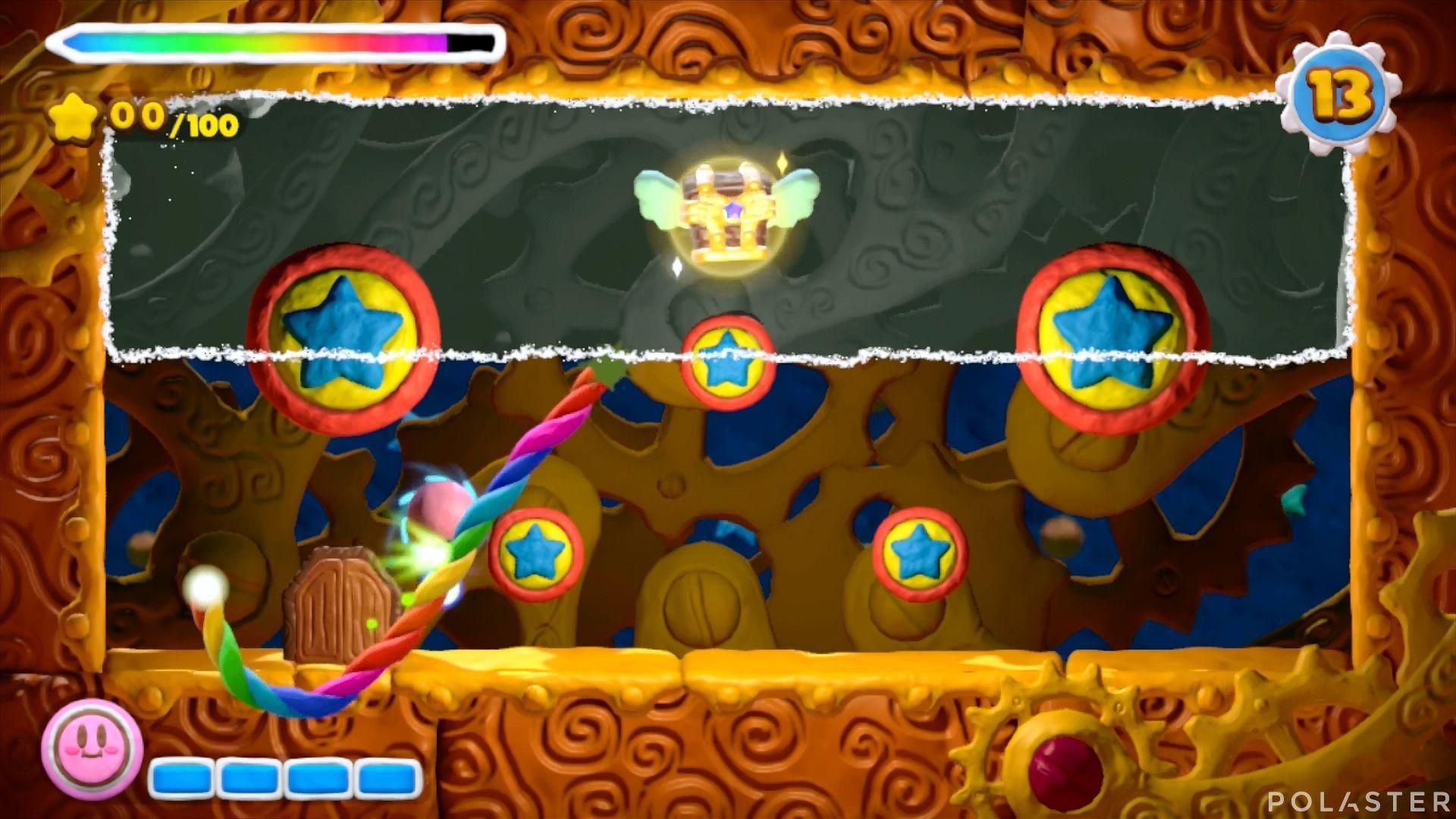 Kirby y el Pincel Arcoíris - Desafío 41: Cofre 2