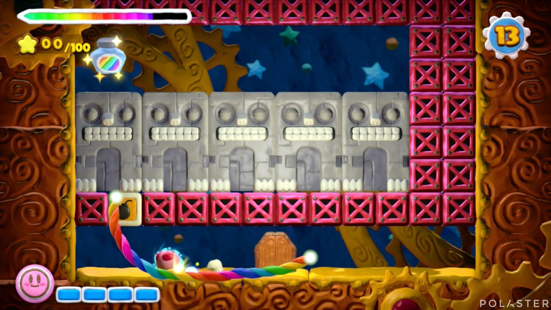 Kirby y el Pincel Arcoíris - Desafío 42: Cofre 2