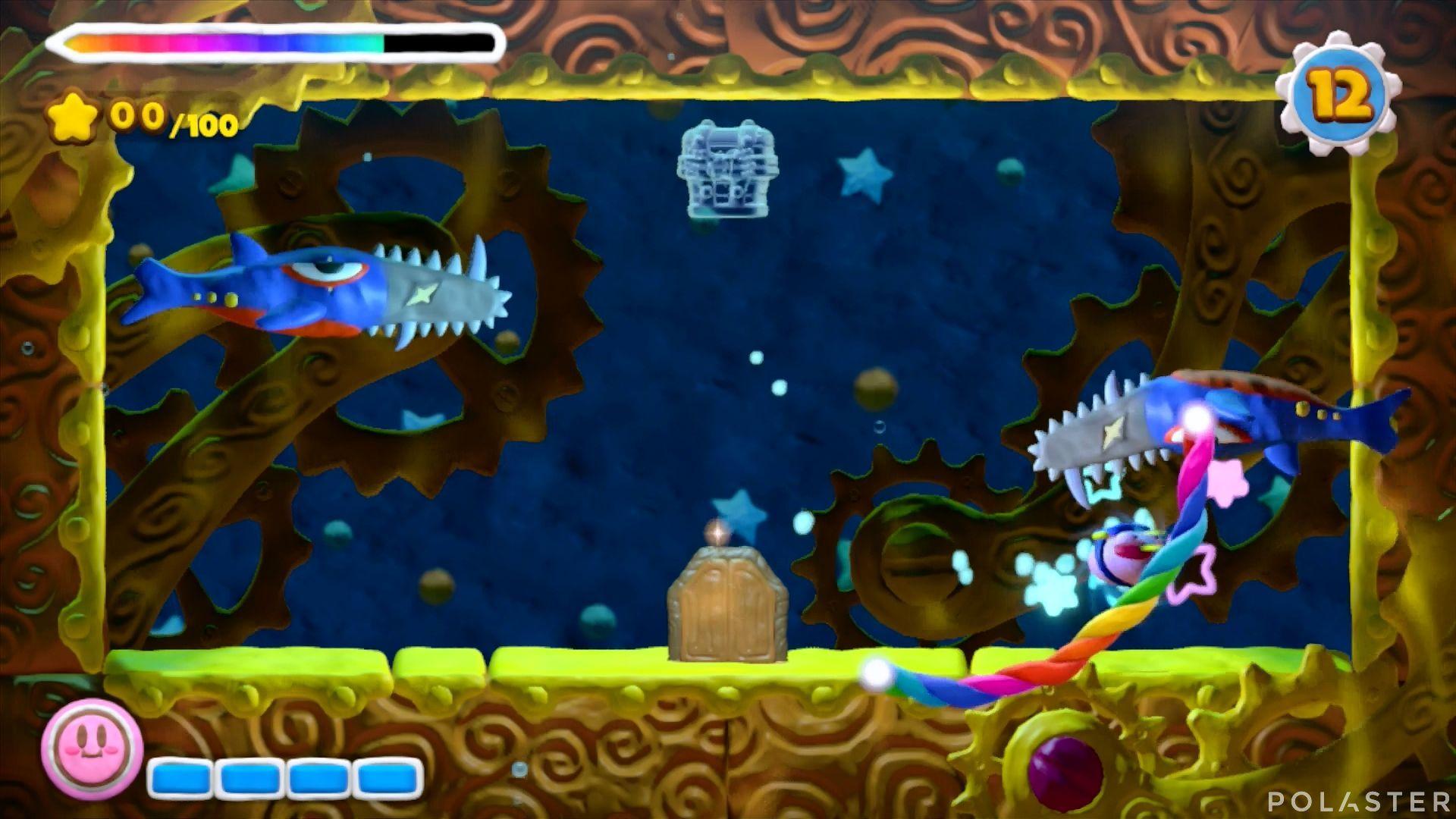 Kirby y el Pincel Arcoíris - Desafío 43: Cofre 1