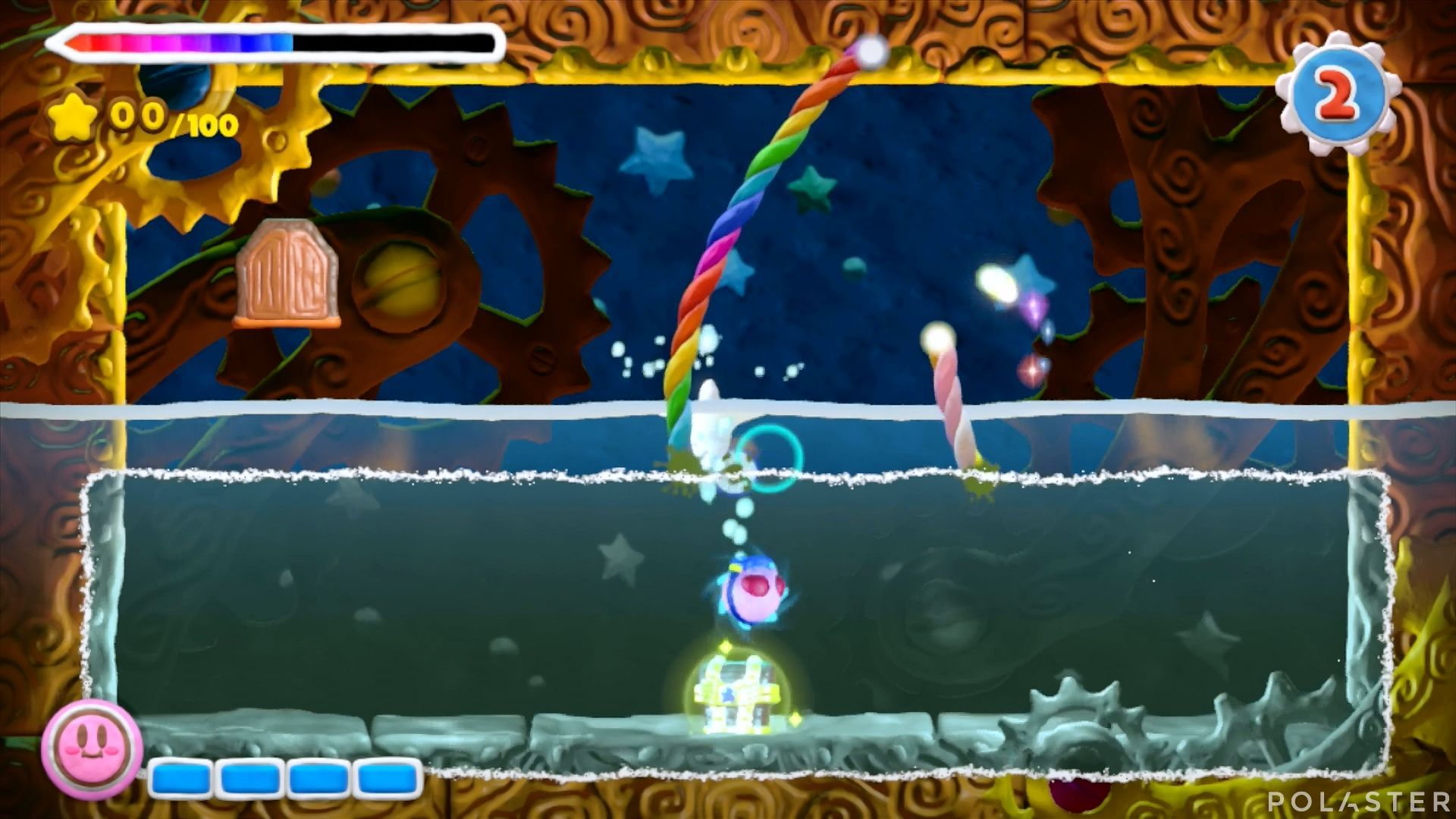 Kirby y el Pincel Arcoíris - Desafío 43: Cofre 2