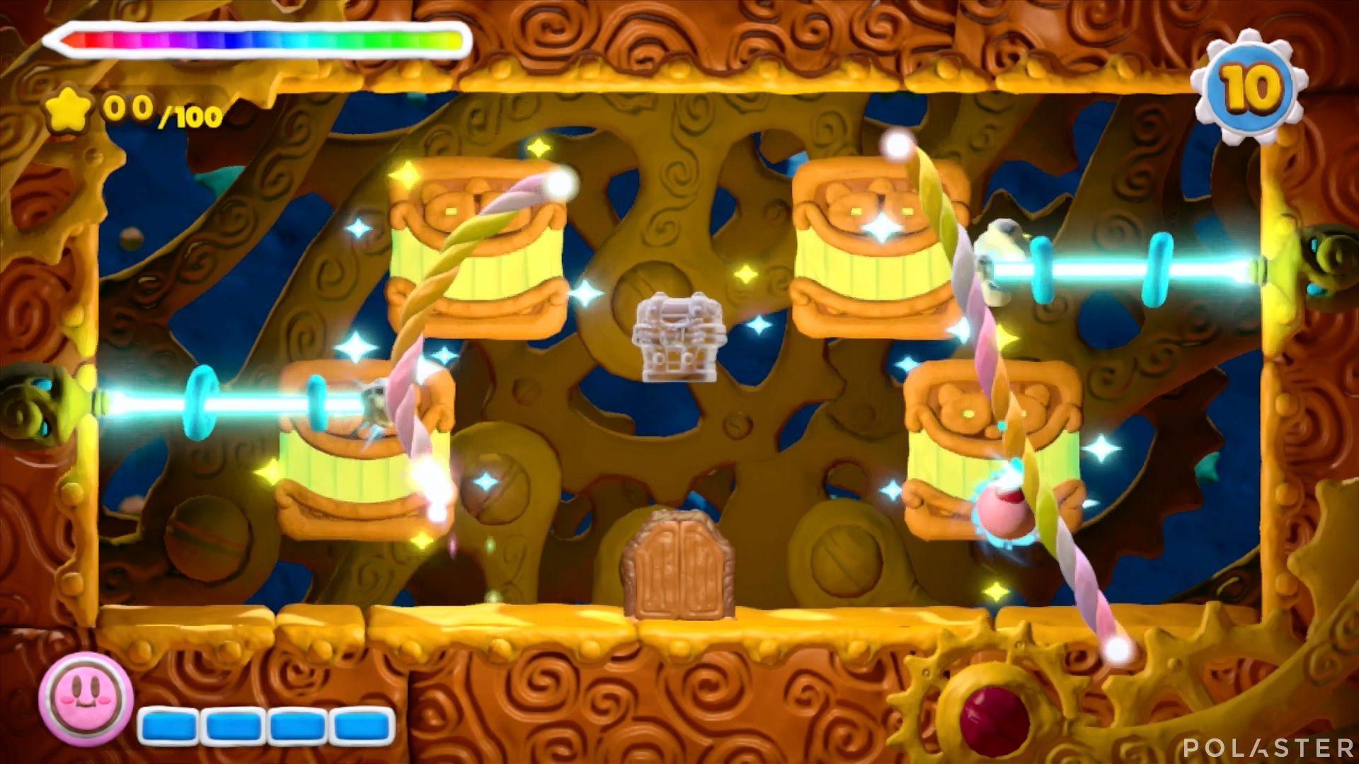 Kirby y el Pincel Arcoíris - Desafío 45: Cofre 1