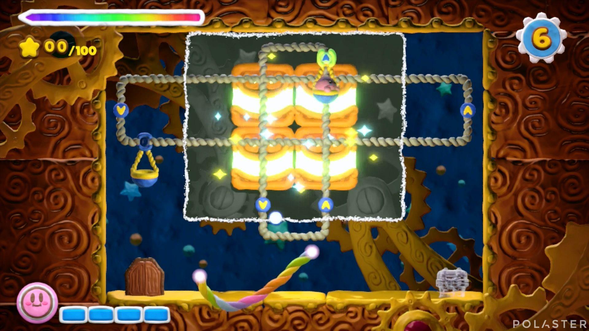 Kirby y el Pincel Arcoíris - Desafío 45: Cofre 2