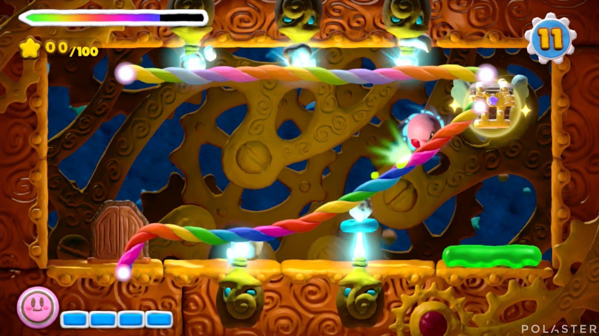 Kirby y el Pincel Arcoíris - Desafío 45: Cofre 3