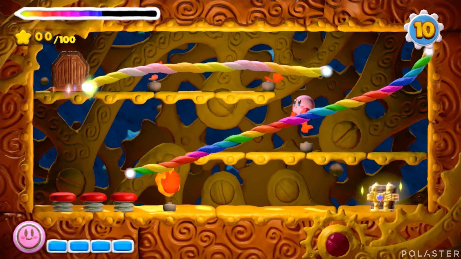 Kirby y el Pincel Arcoíris - Desafío 46: Cofre 1